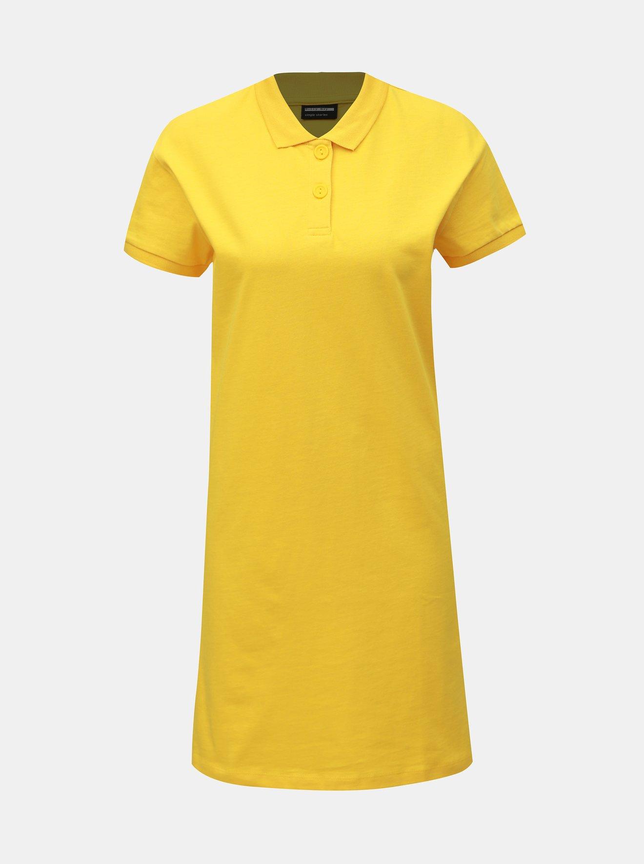 Žluté šaty Noisy May