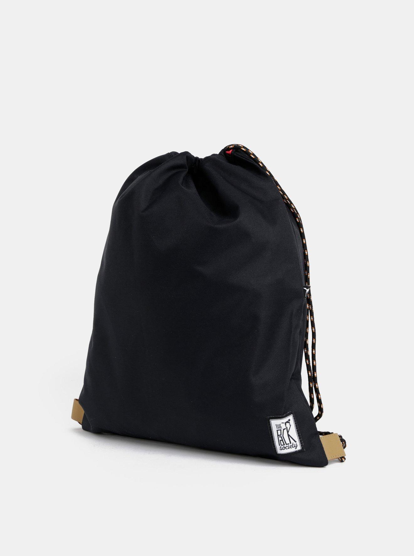 Černý voděodpudivý vak The Pack Society