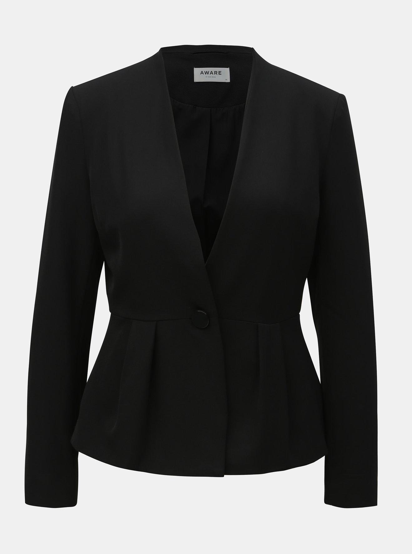 Černé kostýmové sako VERO MODA AWARE Gemma