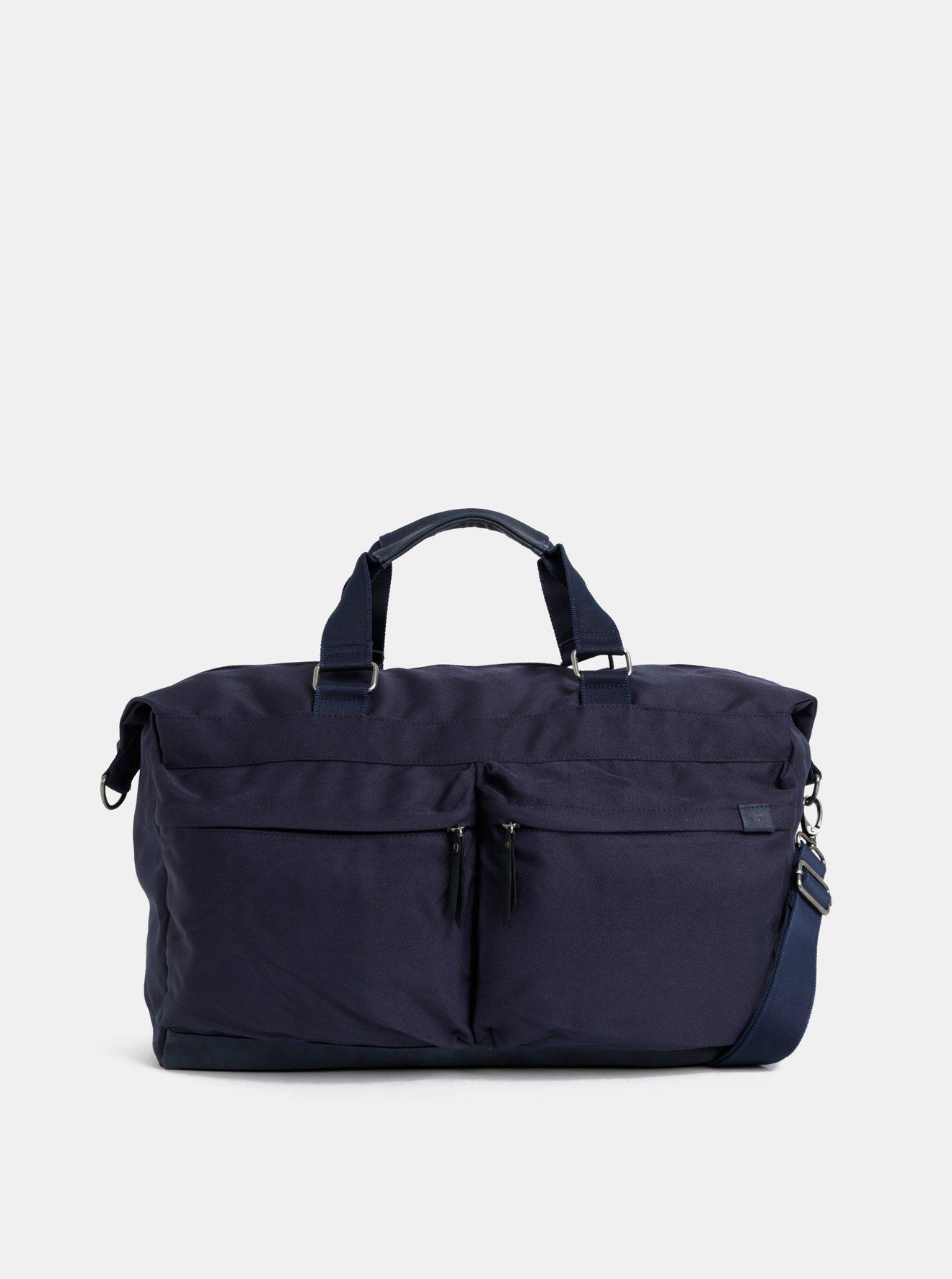 Tmavě modrá cestovní taška Tom Tailor Simon