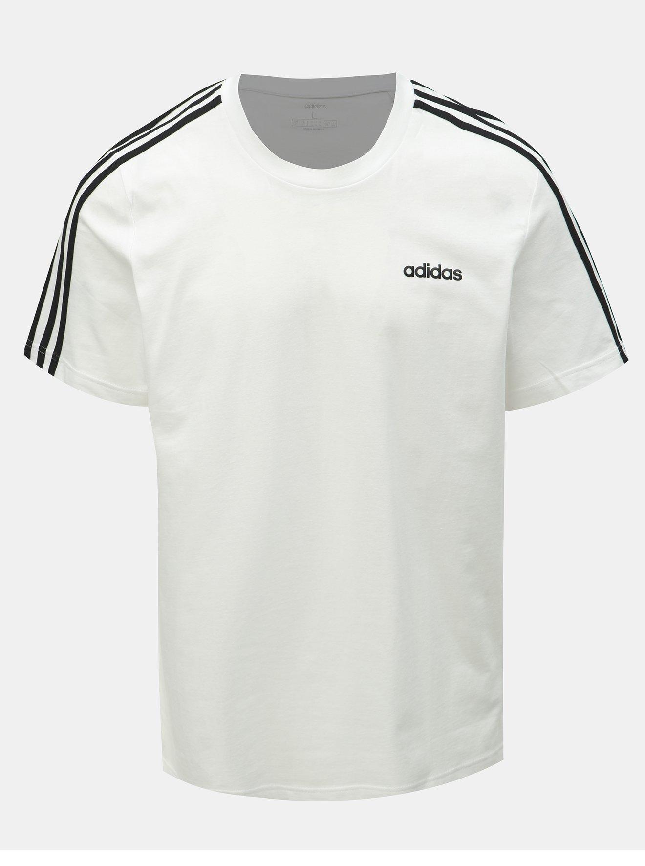 Bílé pánské tričko adidas CORE Essentials