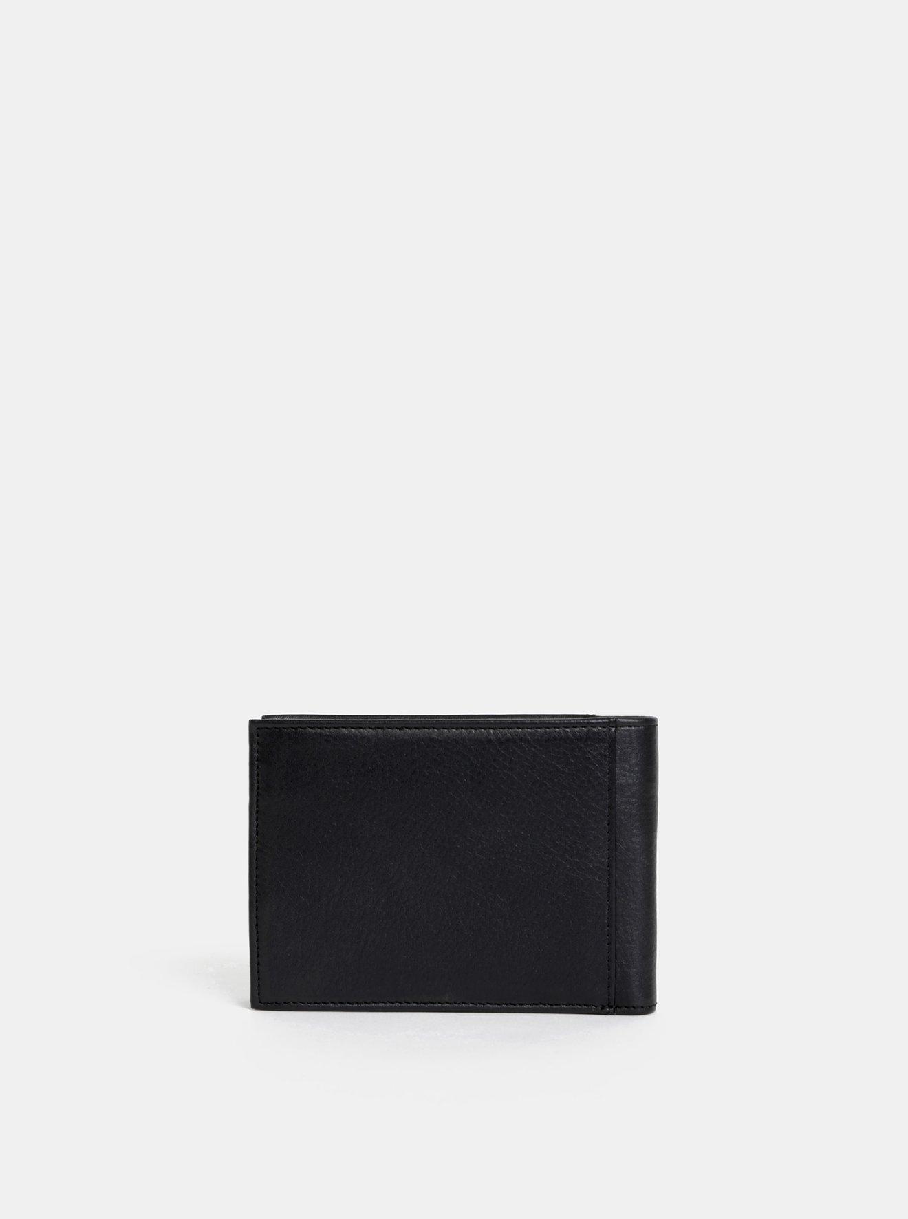 Černá pánská kožená peněženka Dice Hayley
