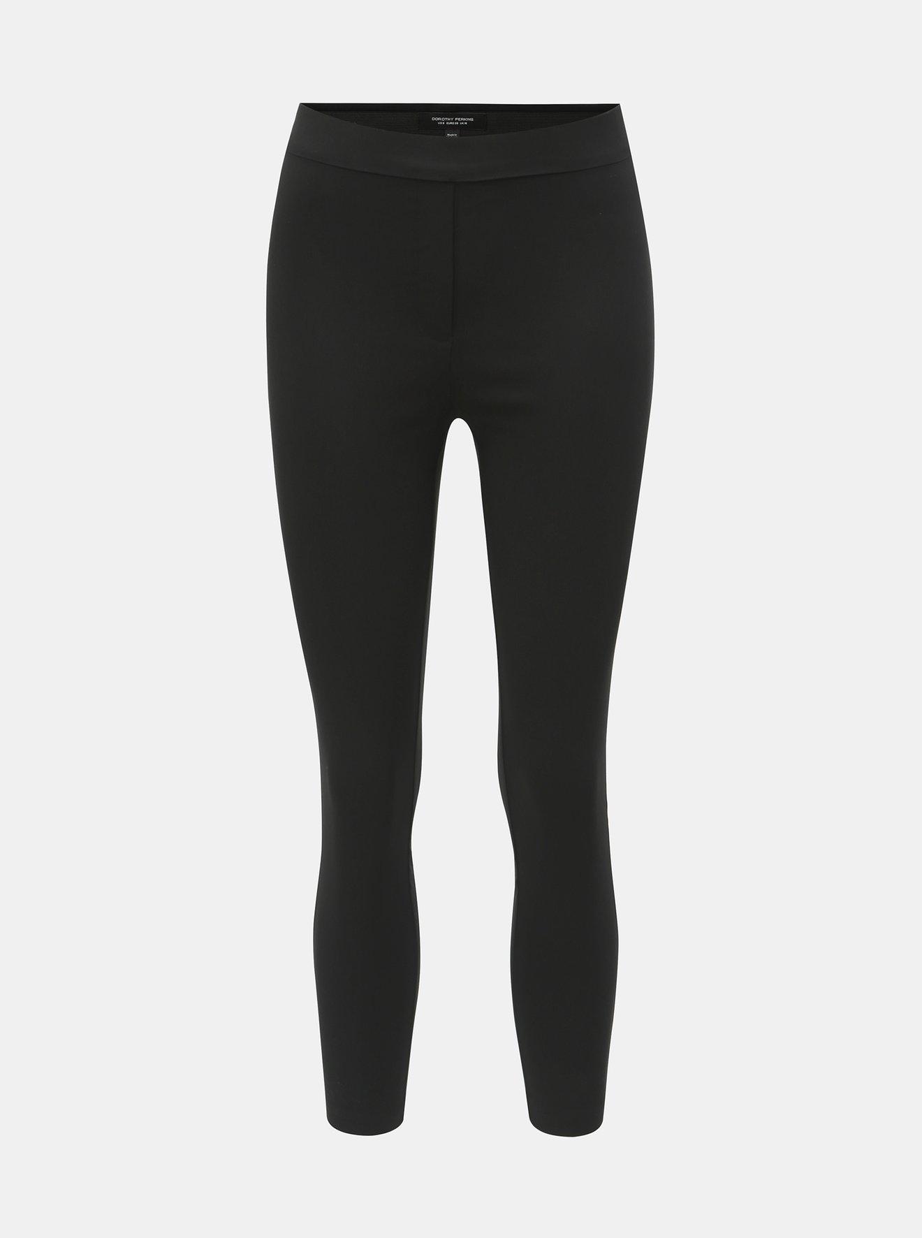 Černé skinny fit kalhoty Dorothy Perkins