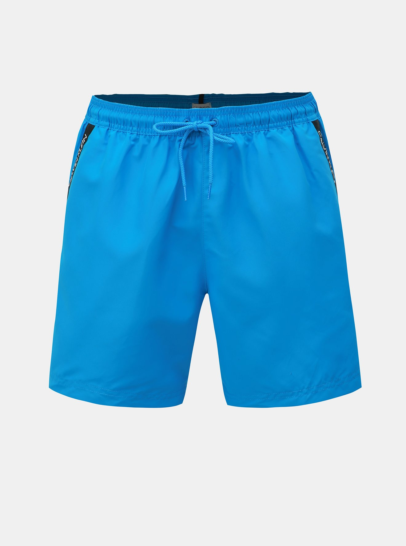 Modré pánské plavky Calvin Klein Underwear