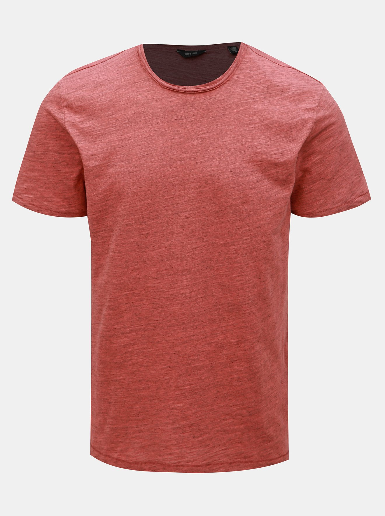 Červené basic tričko ONLY & SONS Albert