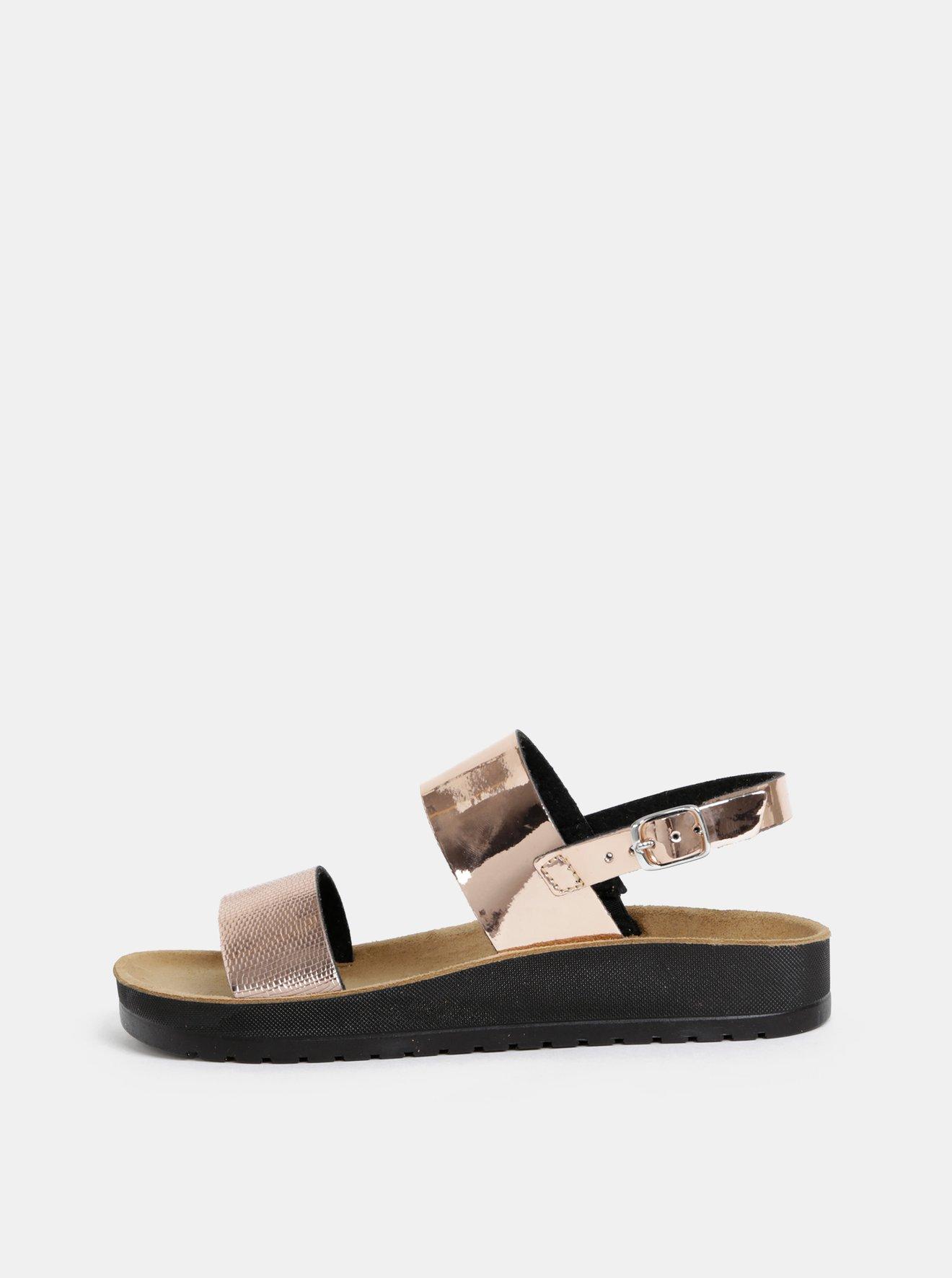 Dámské sandály v růžovozlaté barvě Scholl Cynthia Sandal