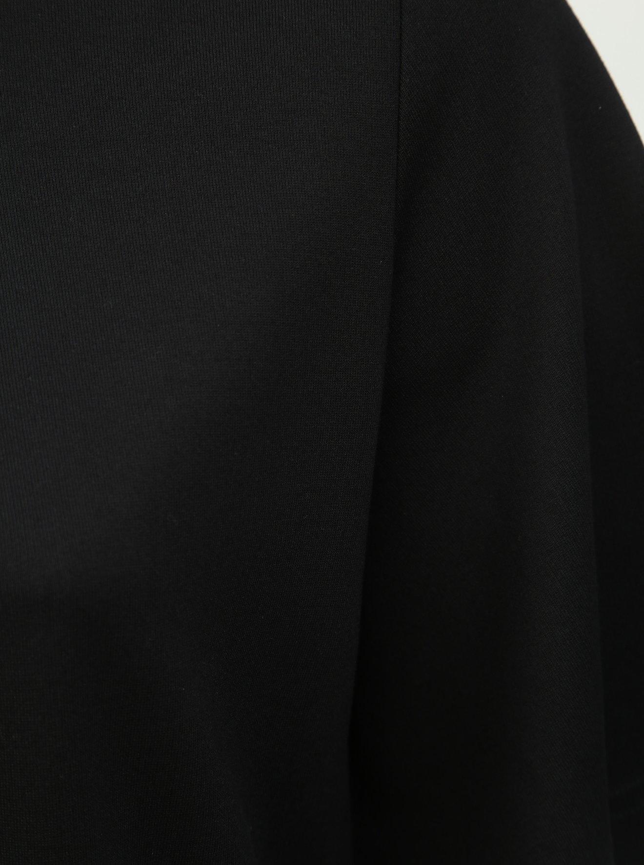 Černá halenka s korálky Ulla Popken