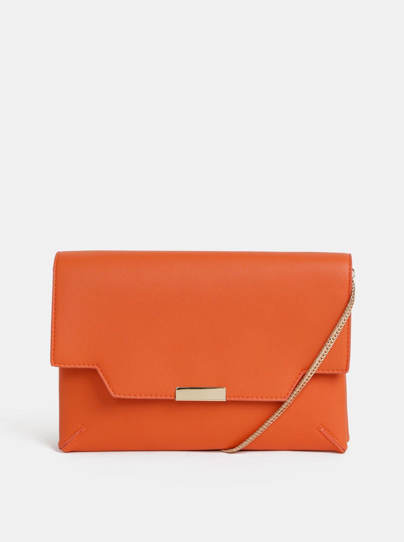 Oranžové psaníčko Dorothy Perkins