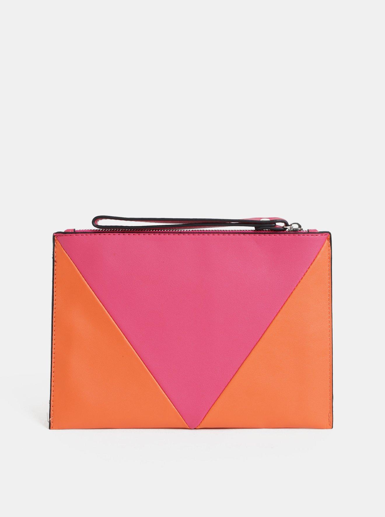 Oranžovo-růžové psaníčko Dorothy Perkins