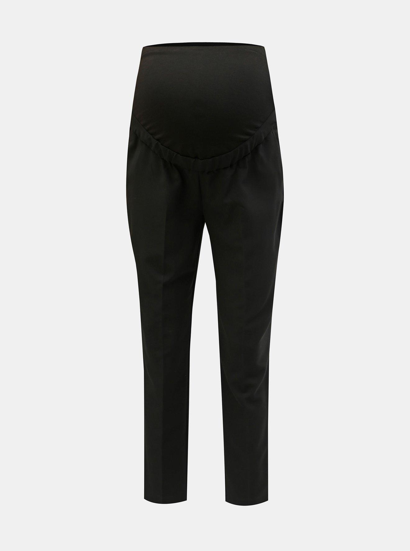 Černé těhotenské kalhoty Dorothy Perkins Maternity