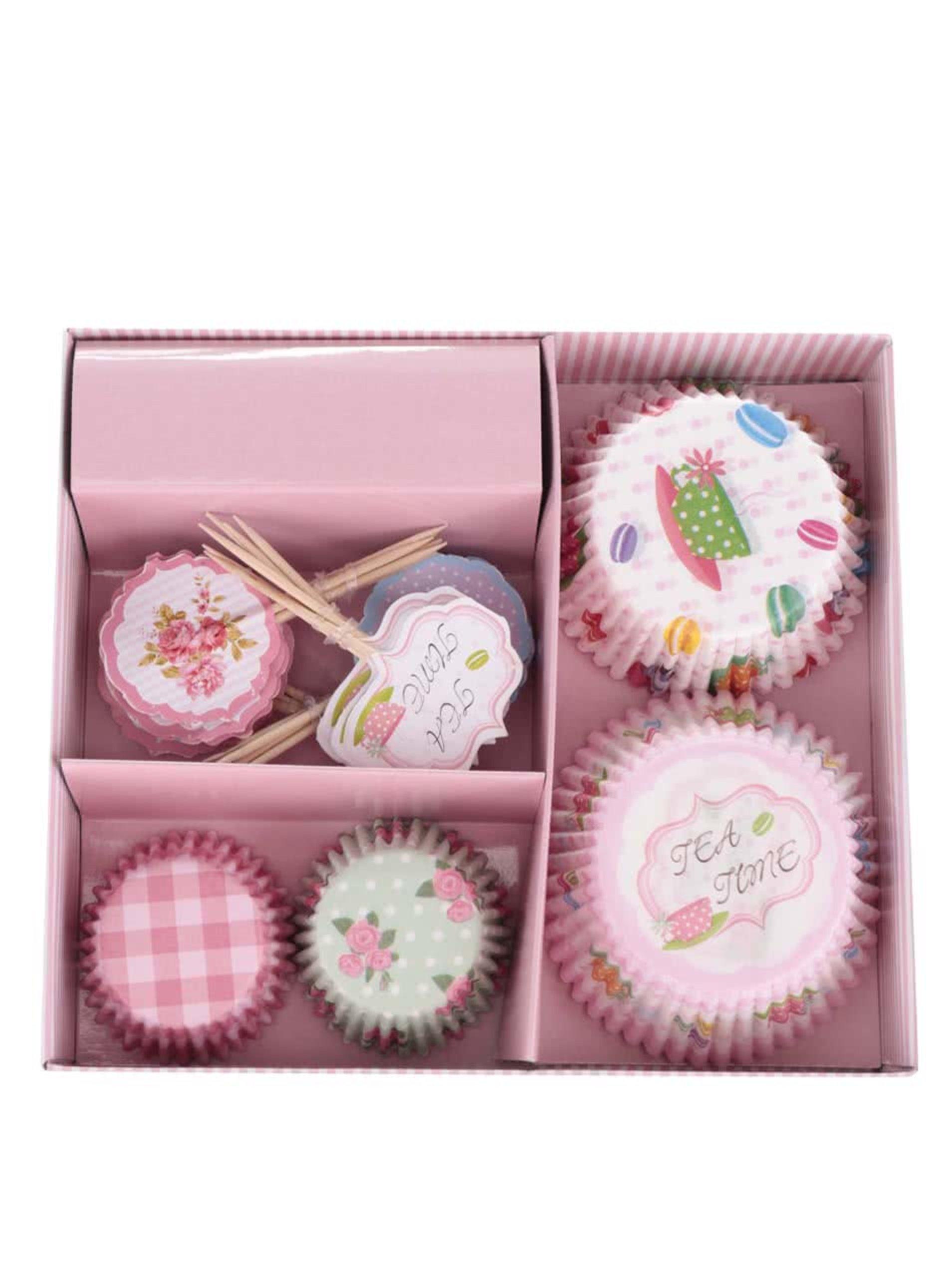 Set papírových košíčků na pečení s motivem sladkostí Dakls
