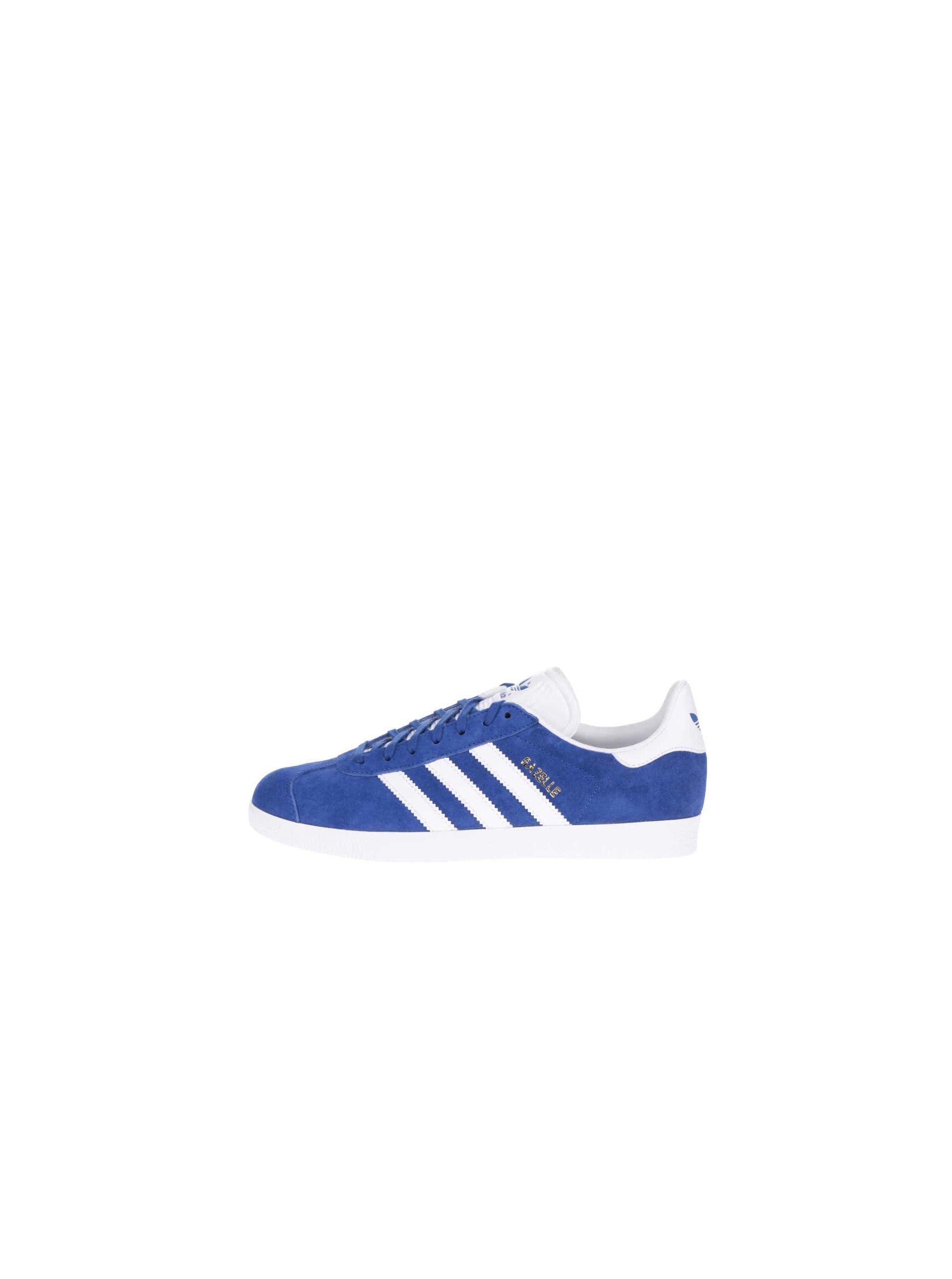 f7632bff158f8 Modré pánske semišové tenisky adidas Originals Gazelle