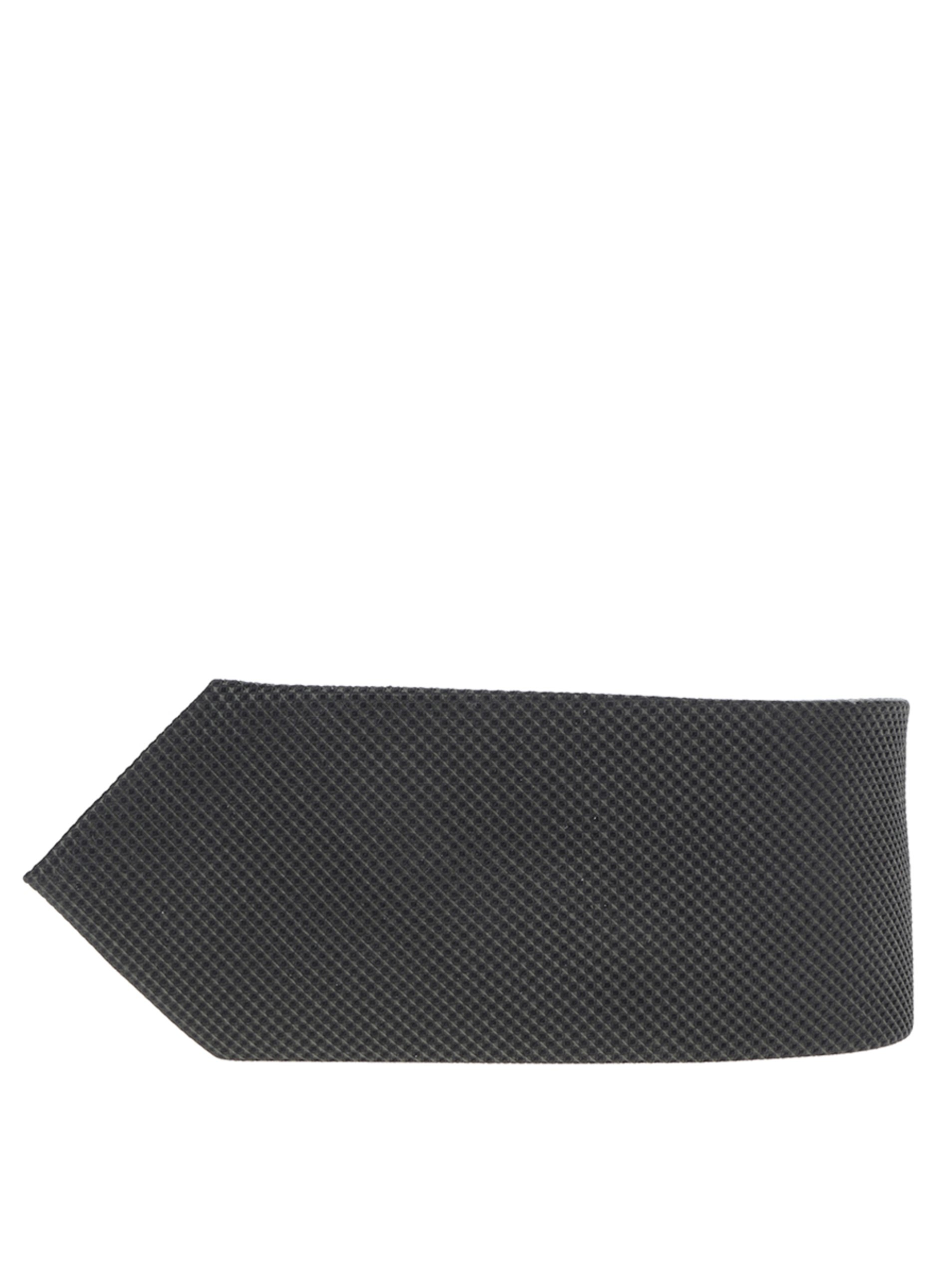 Tmavě zelená hedvábná kravata s drobným vzorem Jack & Jones Premium Colombia
