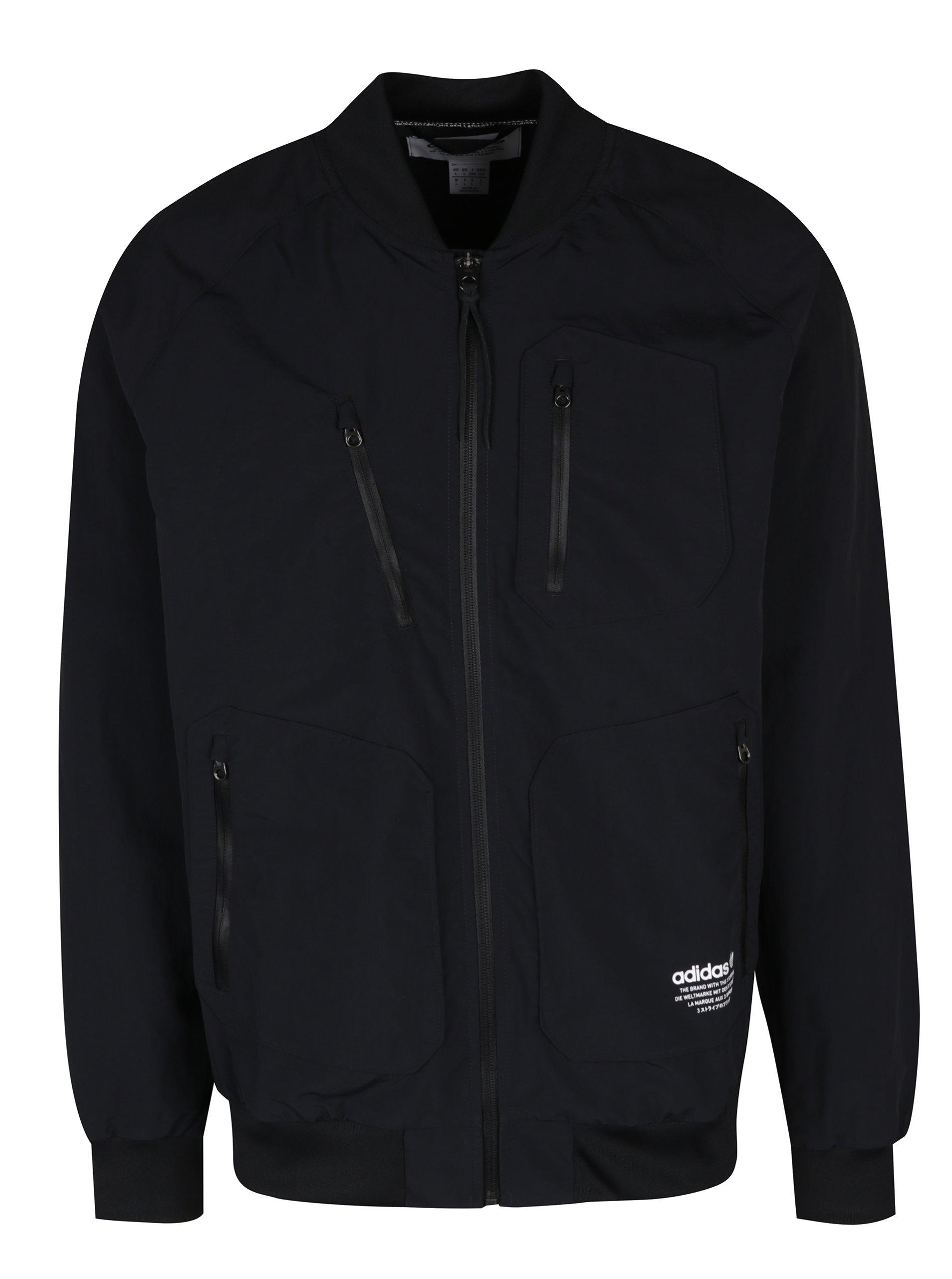 Černá pánská bunda adidas Originals Urban