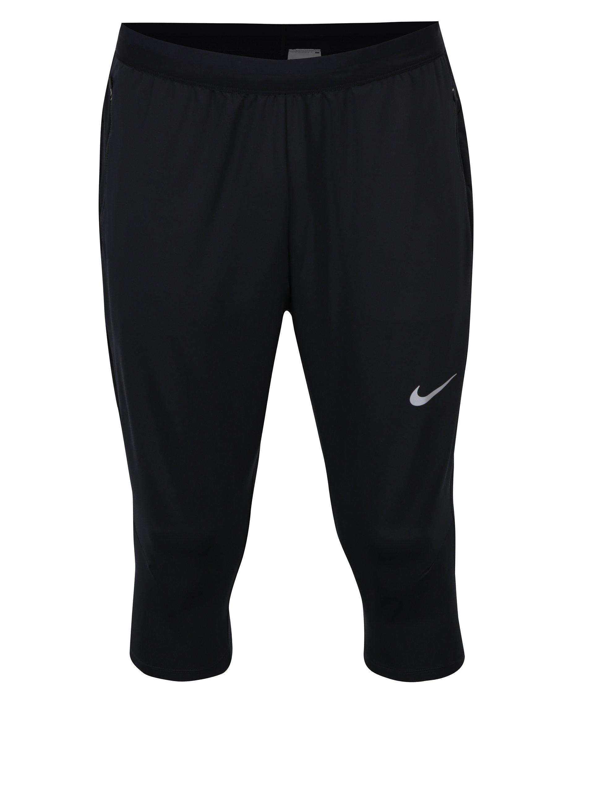 Černé pánské funkční kraťasy Nike Dry