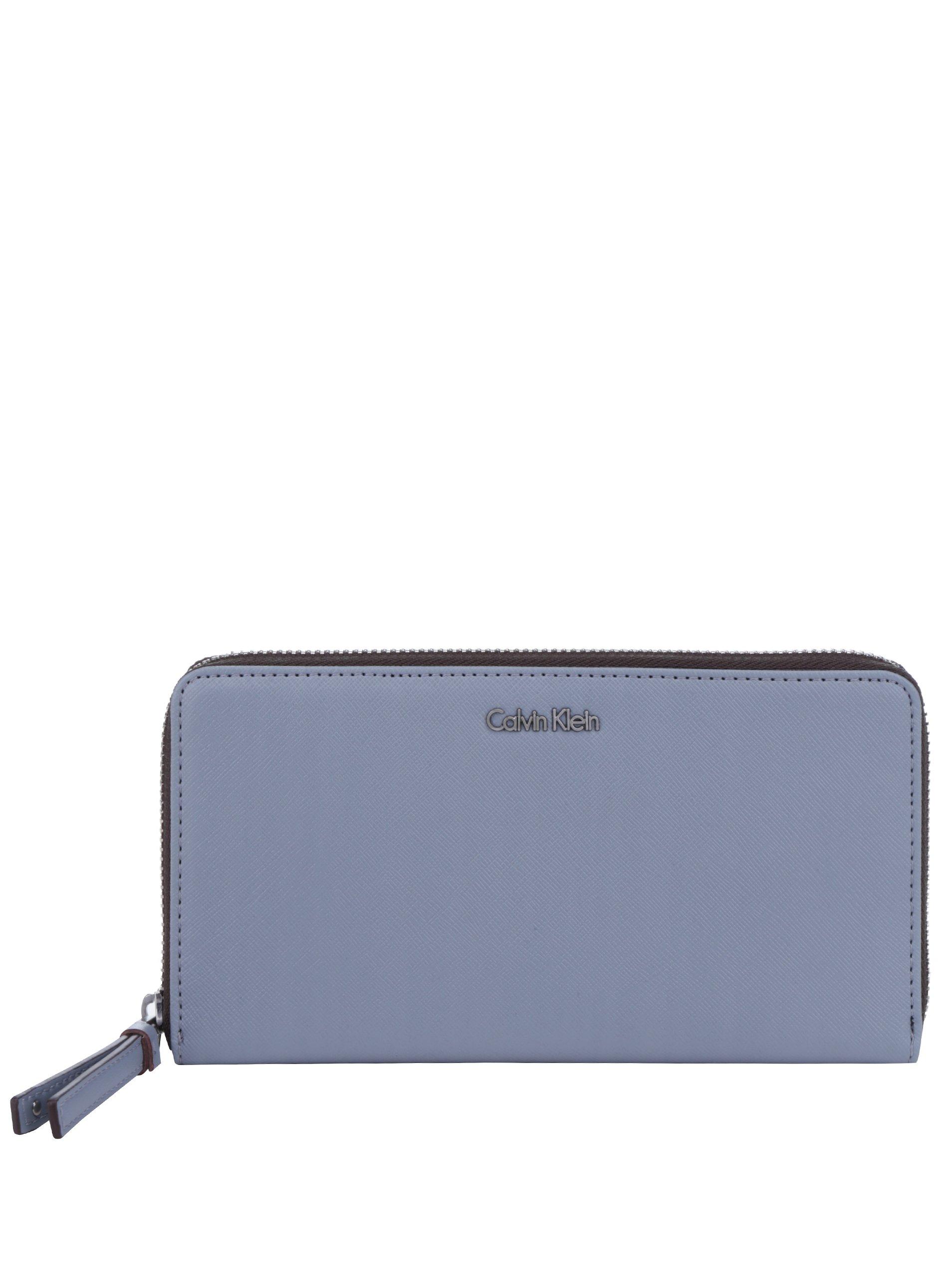 Šedá dámská velká peněženka Calvin Klein Jeans Marissa
