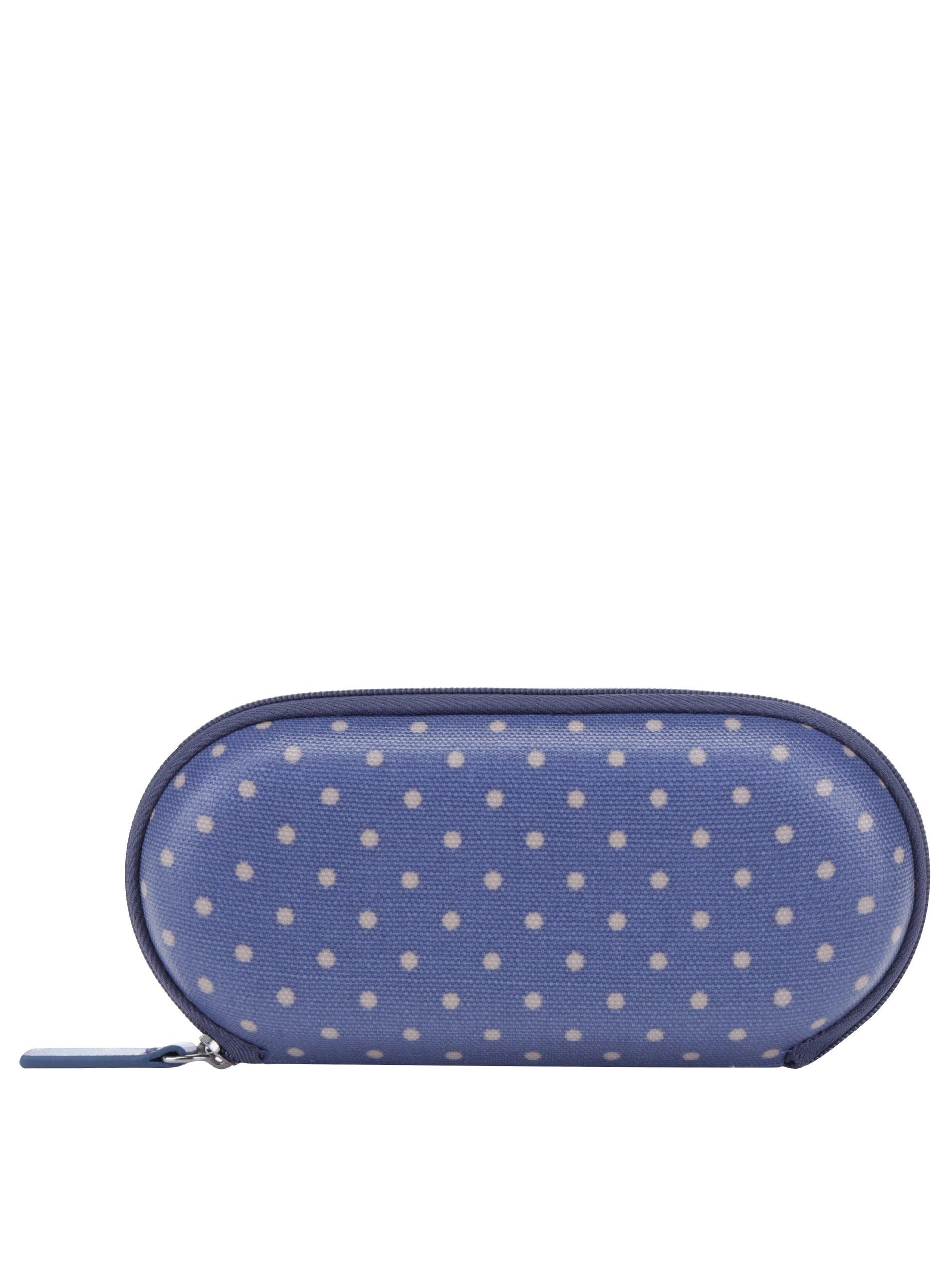 Modré puntíkované pouzdro na brýle Cath Kidston