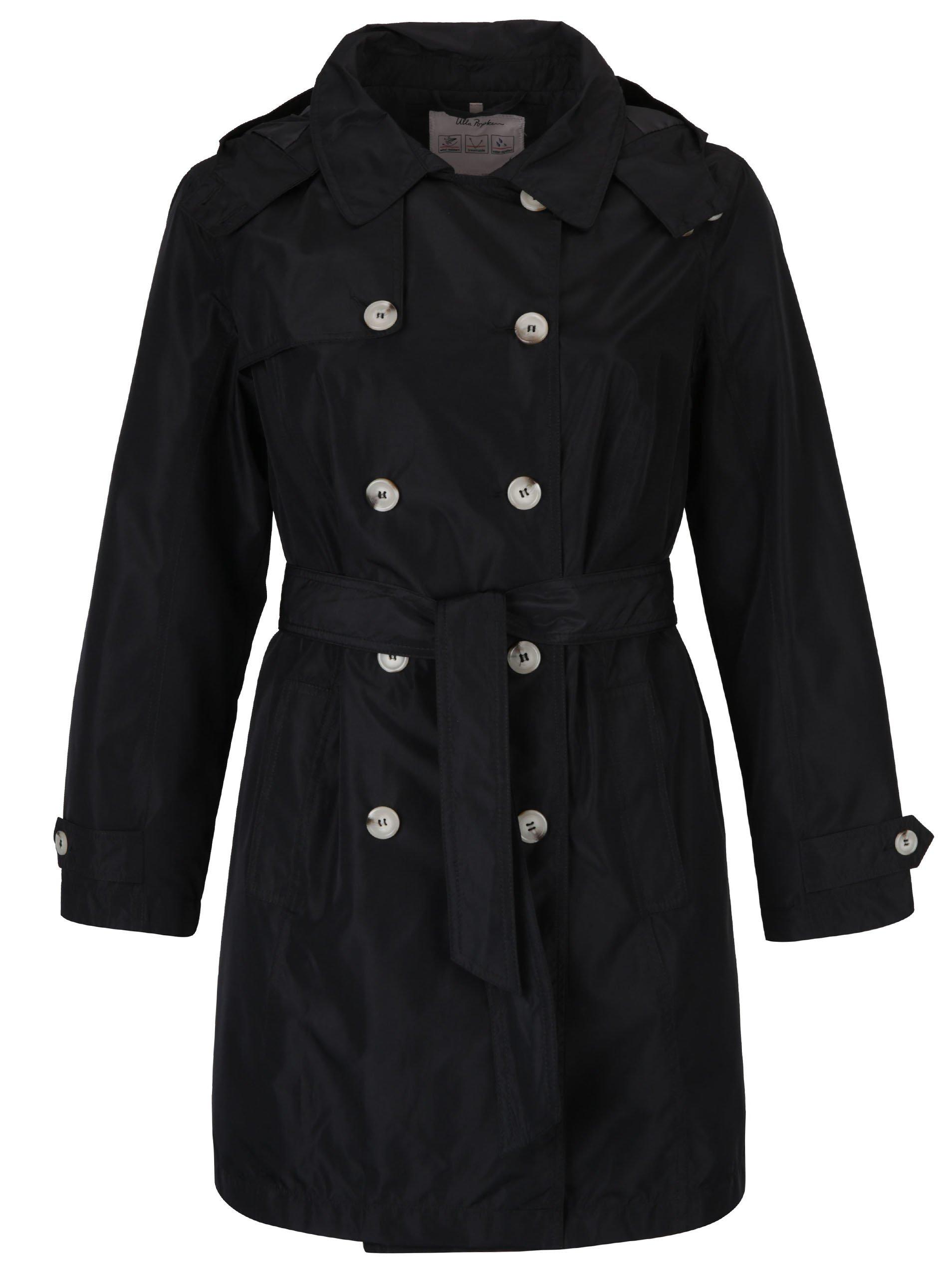 Černý lehký kabát Ulla Popken