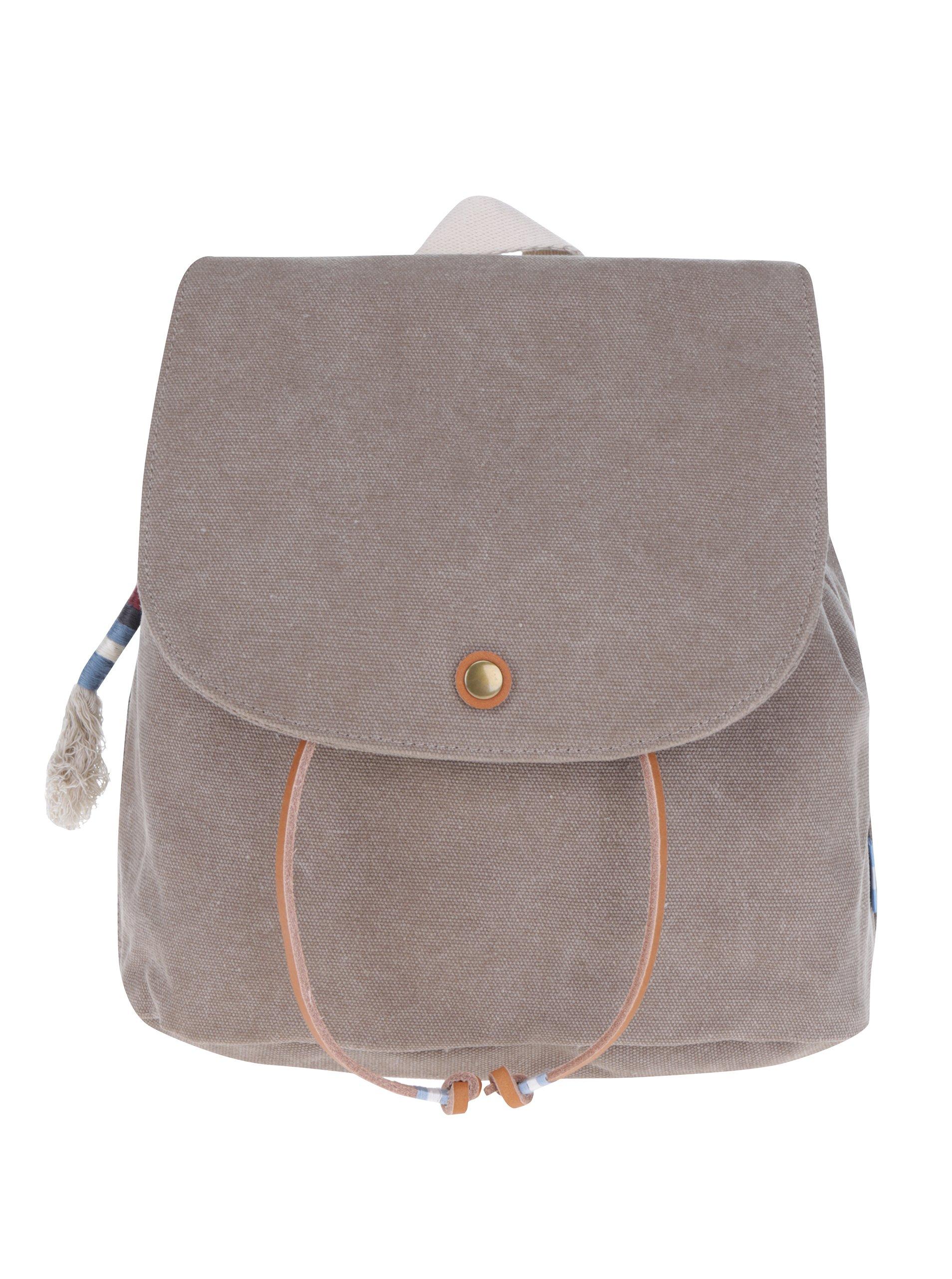 Hnědý dámský malý batoh TOMS