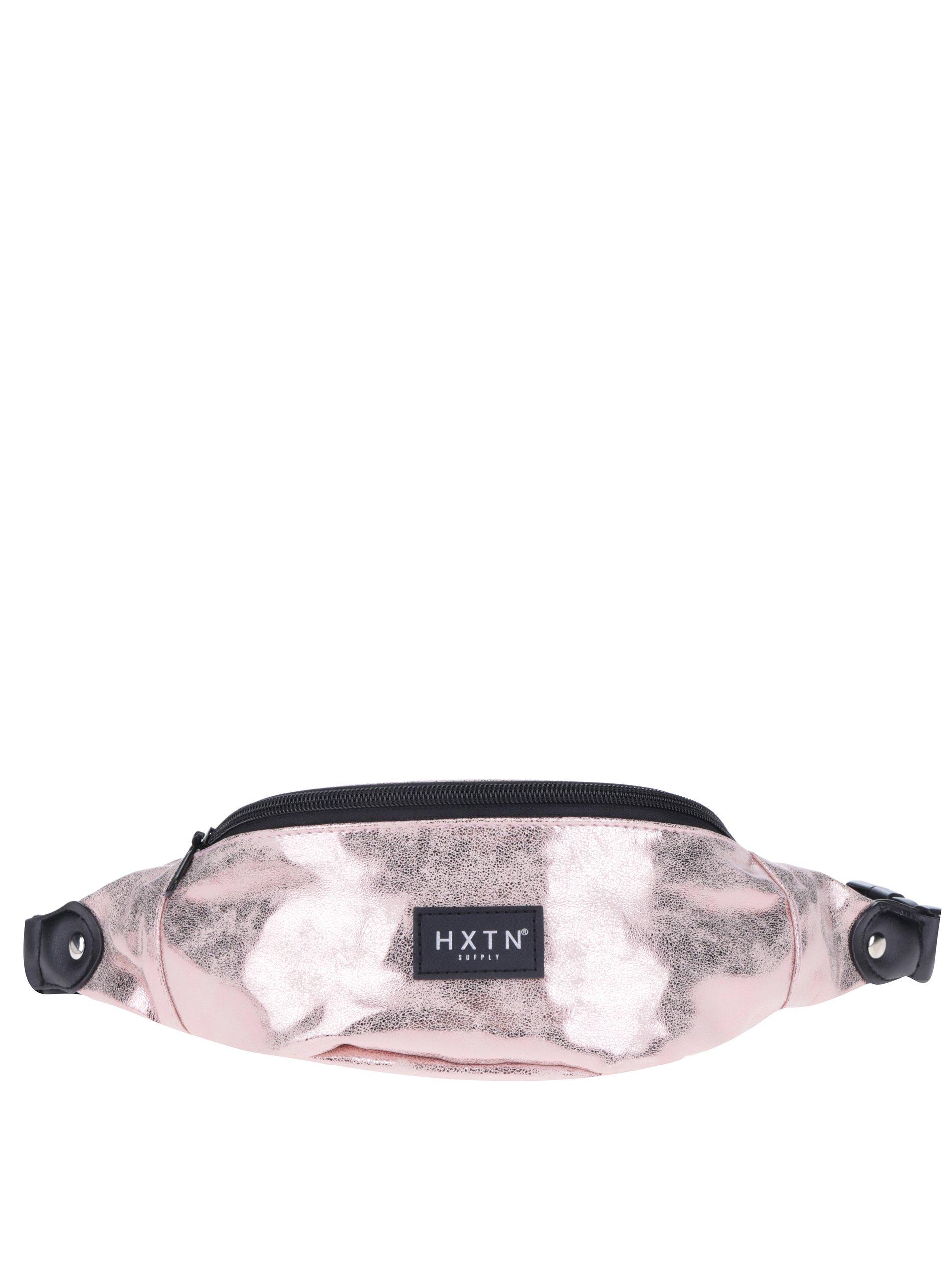 Světle růžová metalická ledvinka HXTN supply