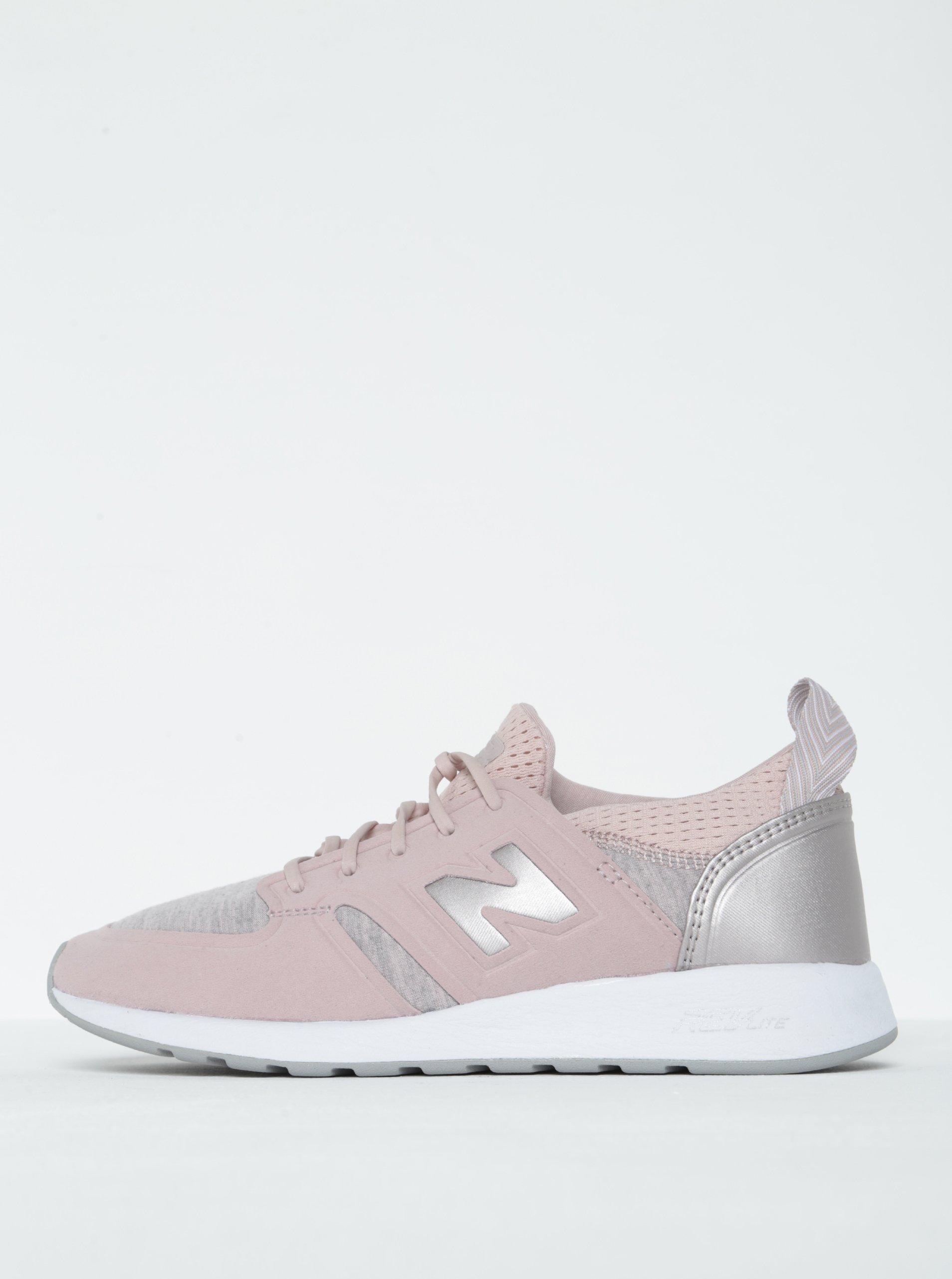 Světle růžové dámské tenisky New Balance