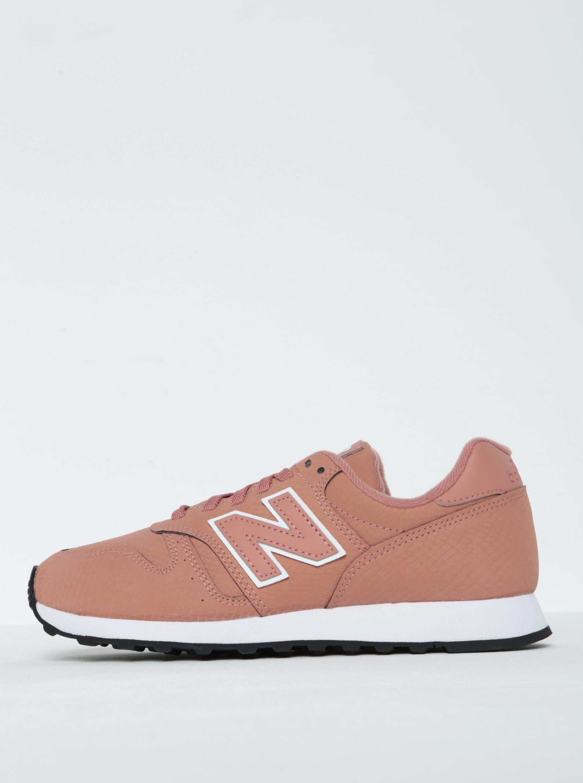 Růžové dámské tenisky New Balance