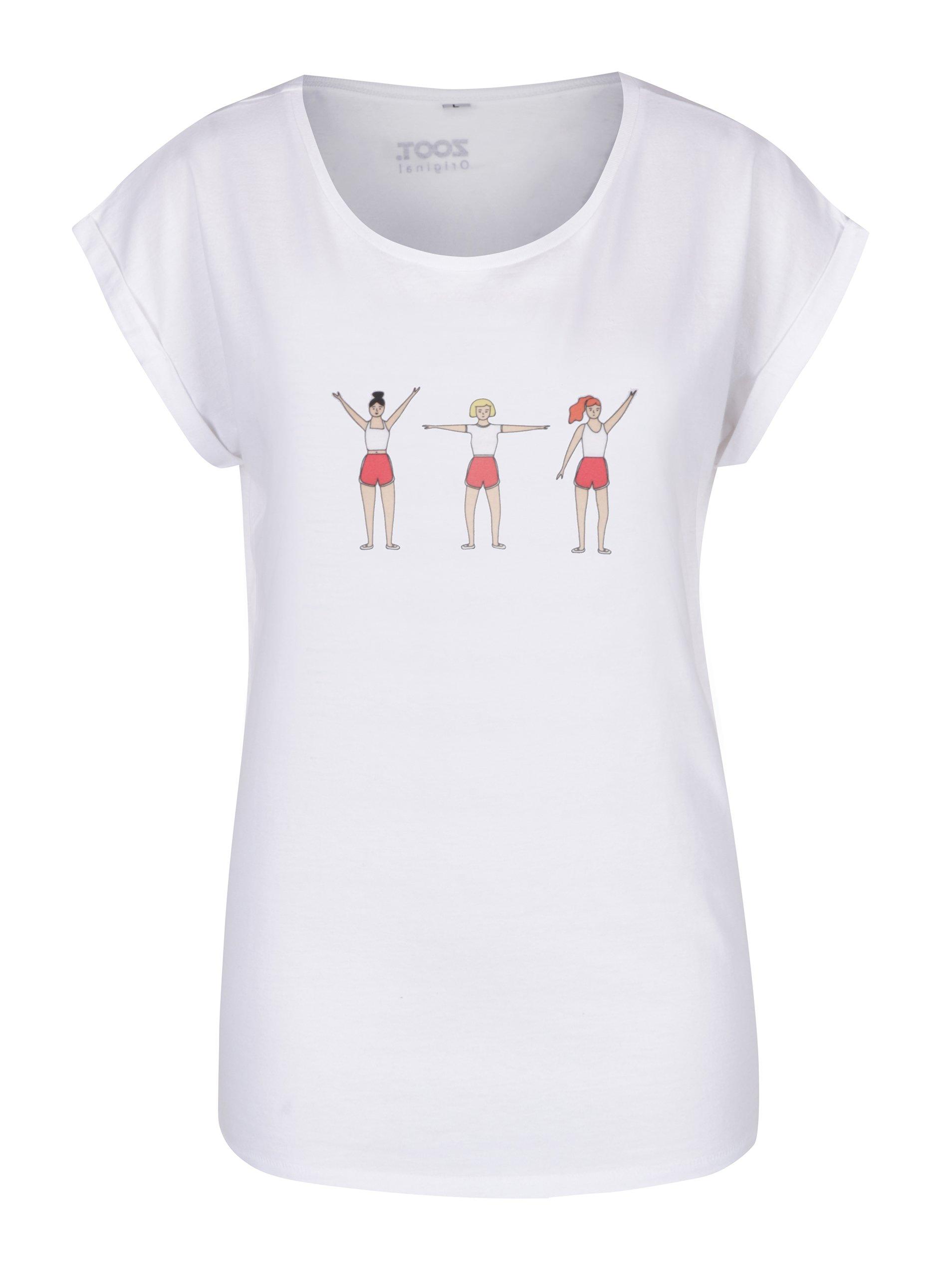 Bílé dámské tričko ZOOT Originál Spartakiáda