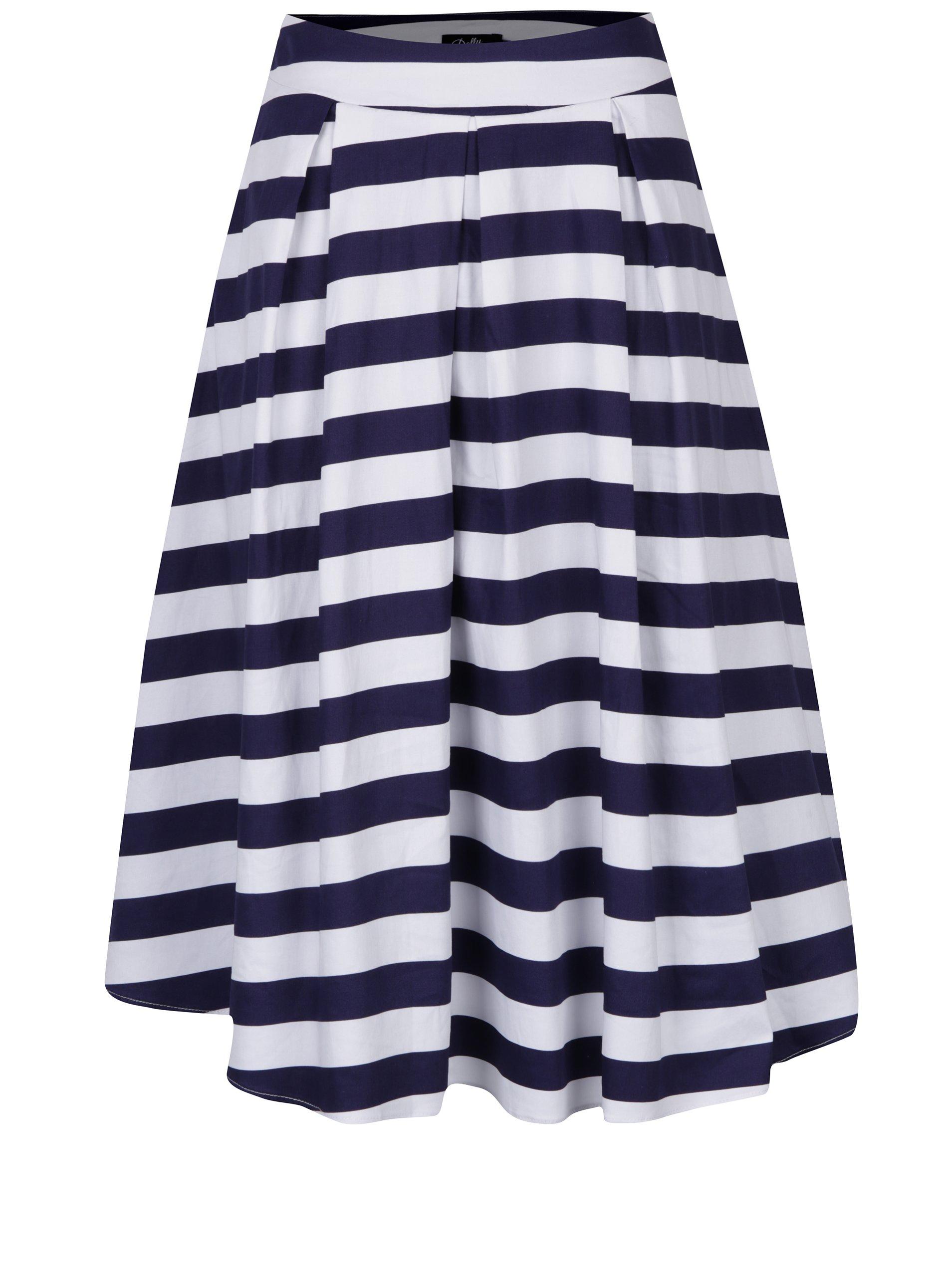 b042f90983da Černo-bílé vzorované šaty Dolly   Dotty Vanessa - SLEVA!