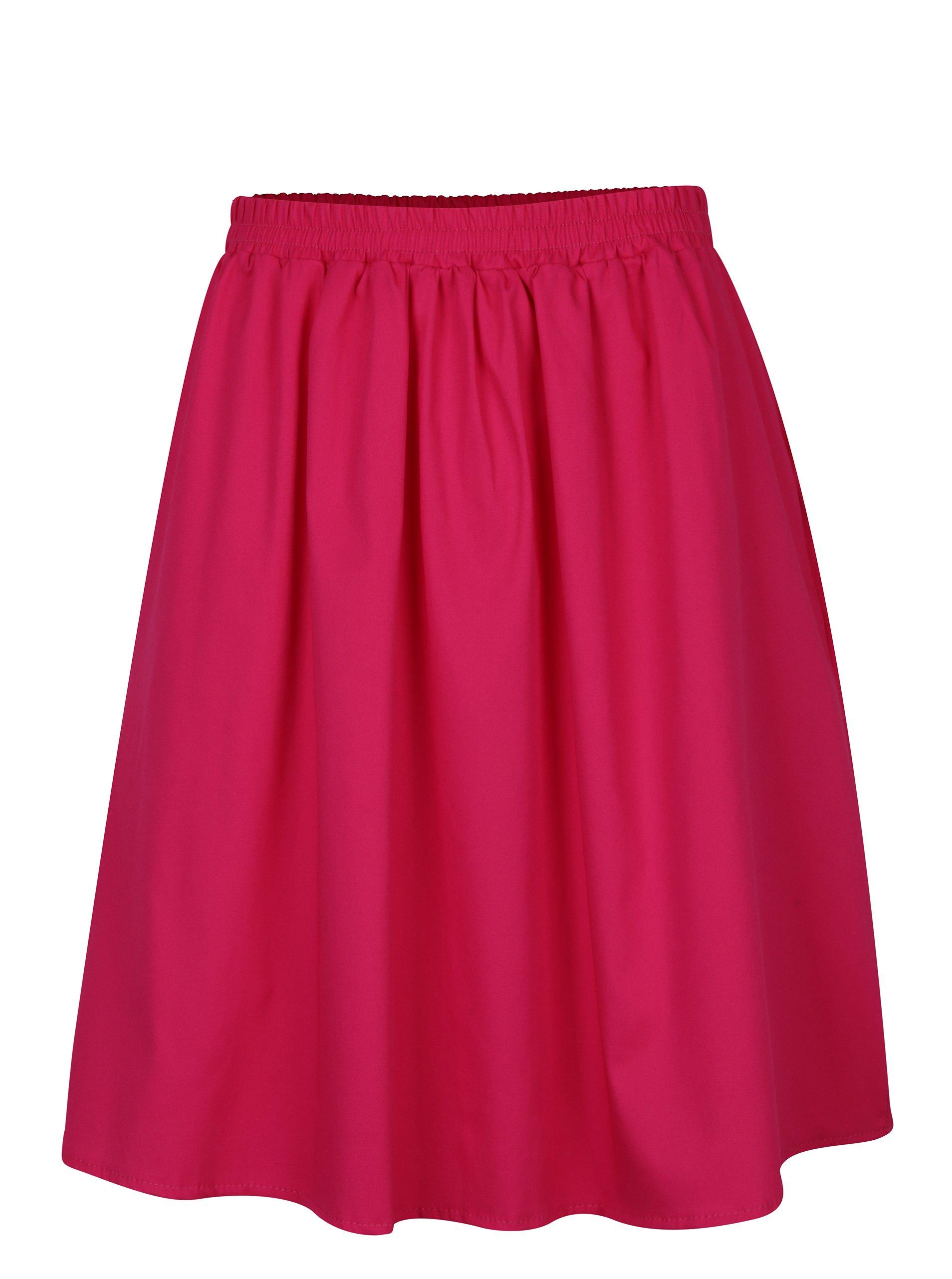 Růžová sukně s kapsami ZOOT