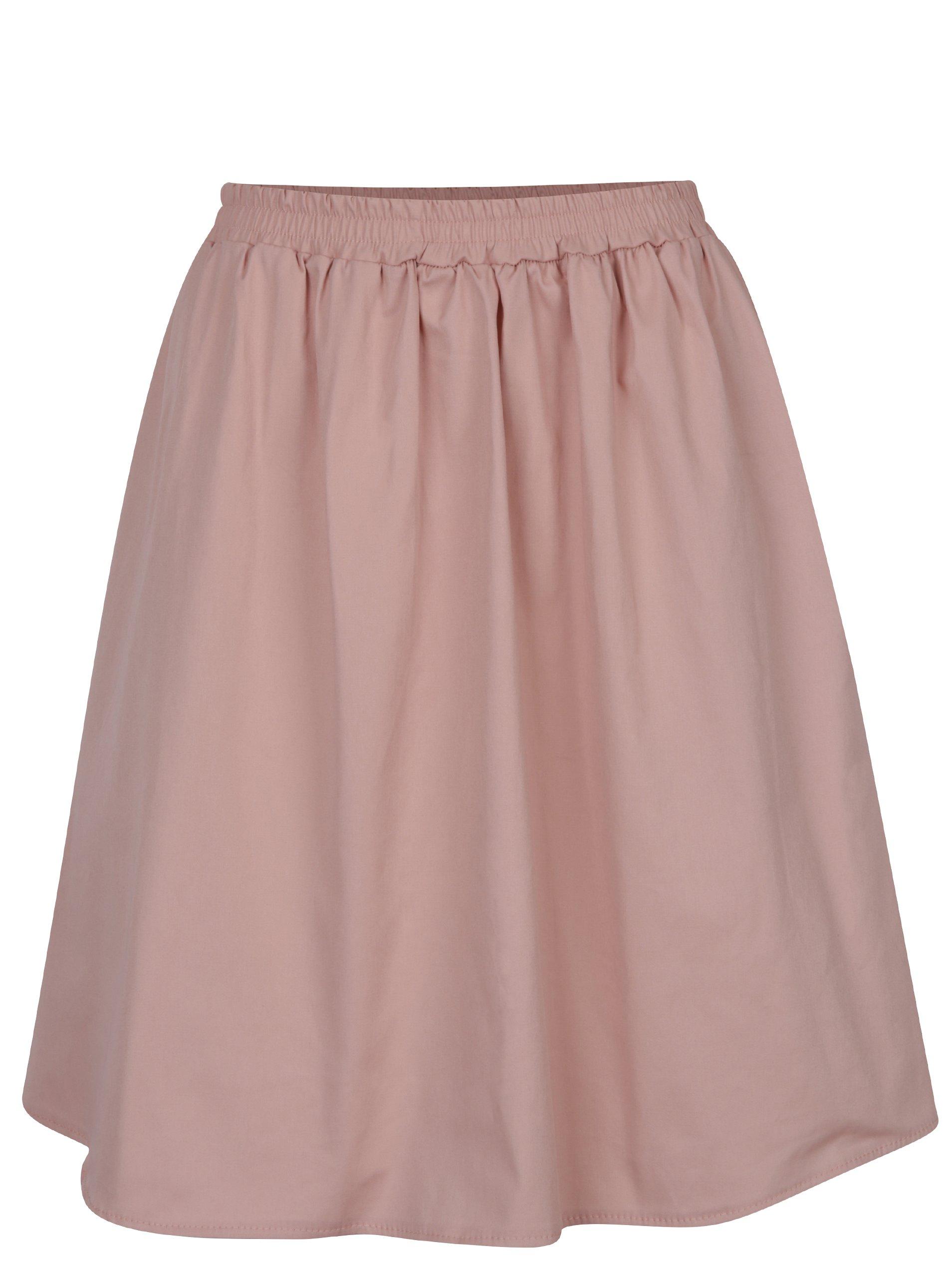 Starorůžová sukně s kapsami ZOOT