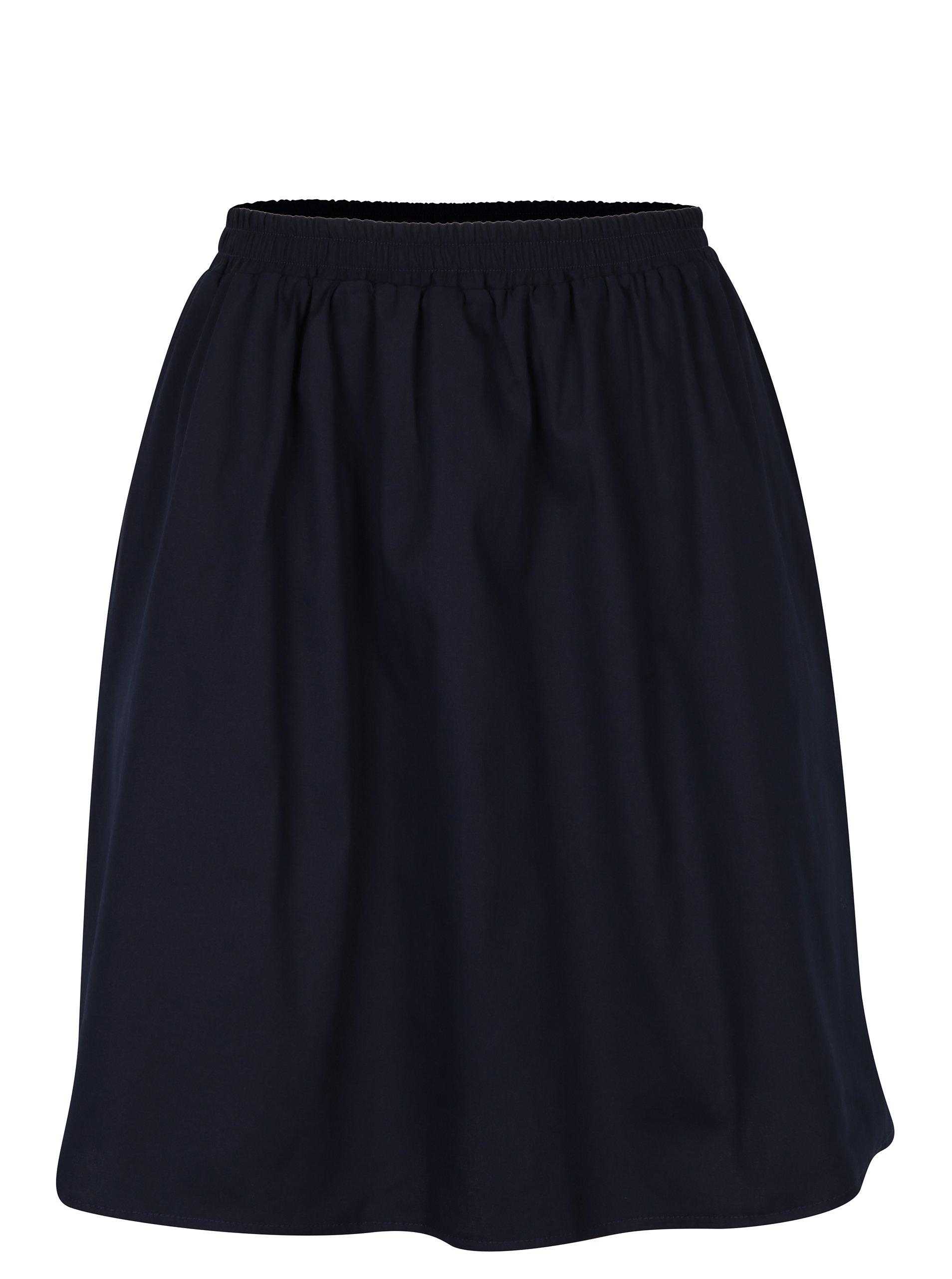 Tmavě modrá sukně s kapsami ZOOT