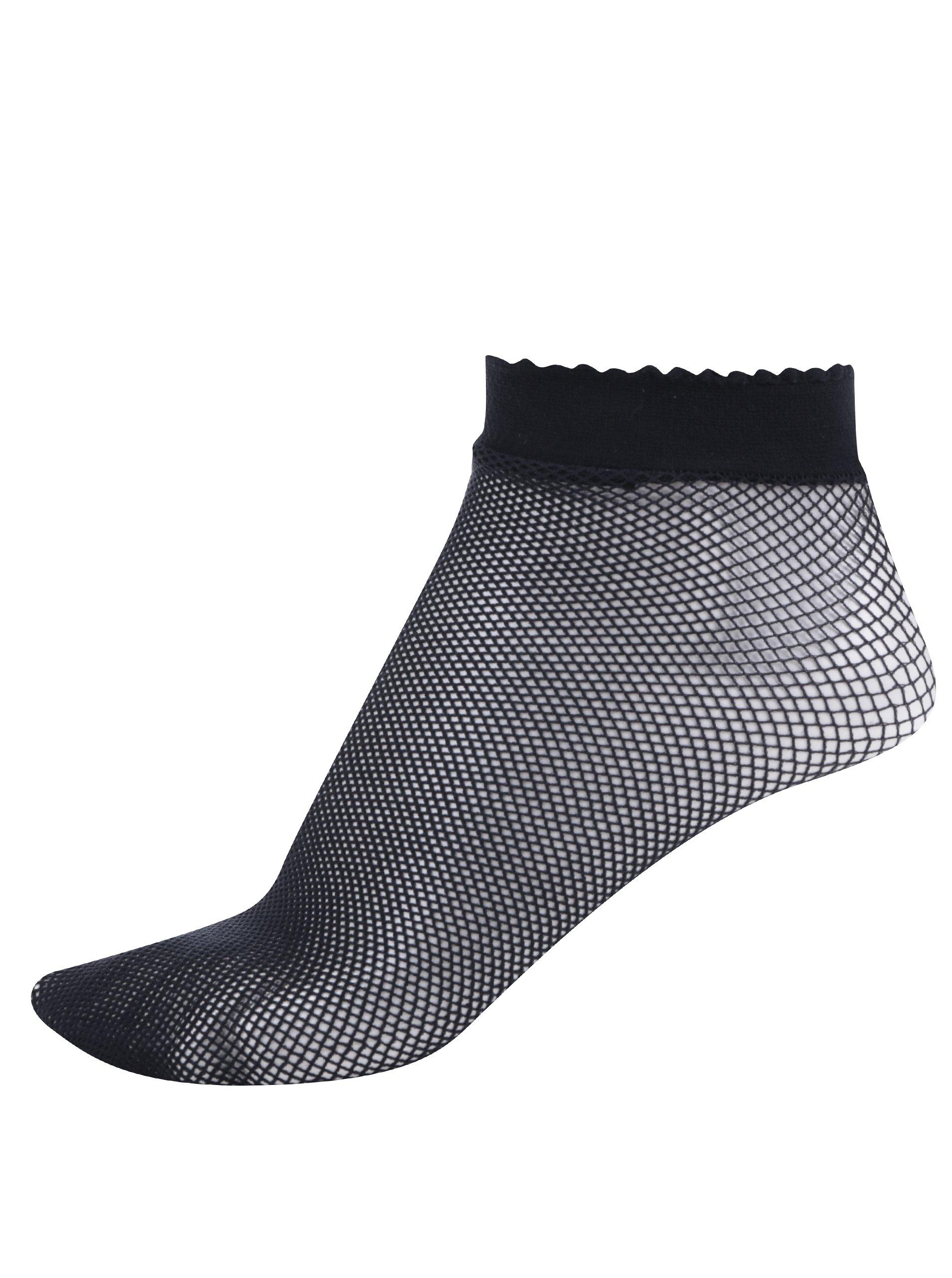Černé silonové ponožky Gipsy