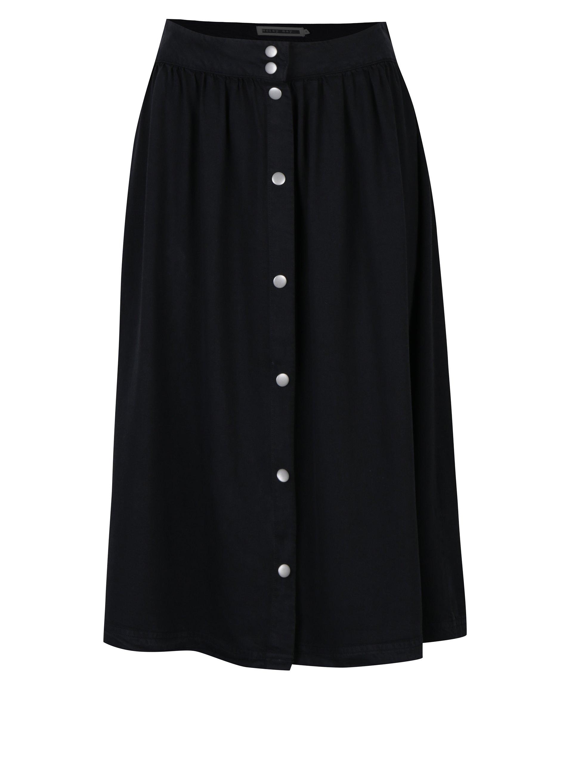 Černá sukně Noisy May Alix
