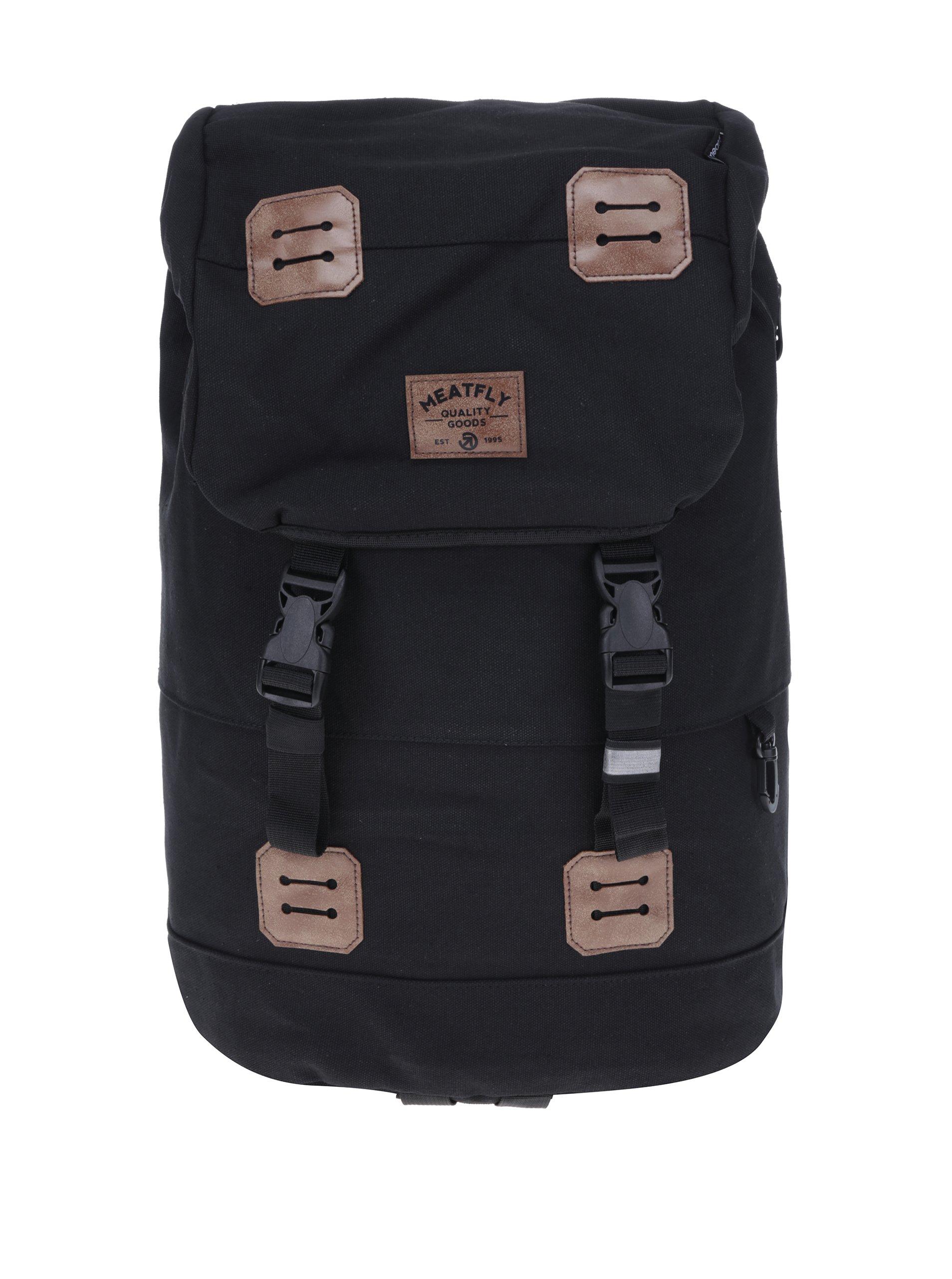 Černý batoh Meatfly Pioneer 2 26 l