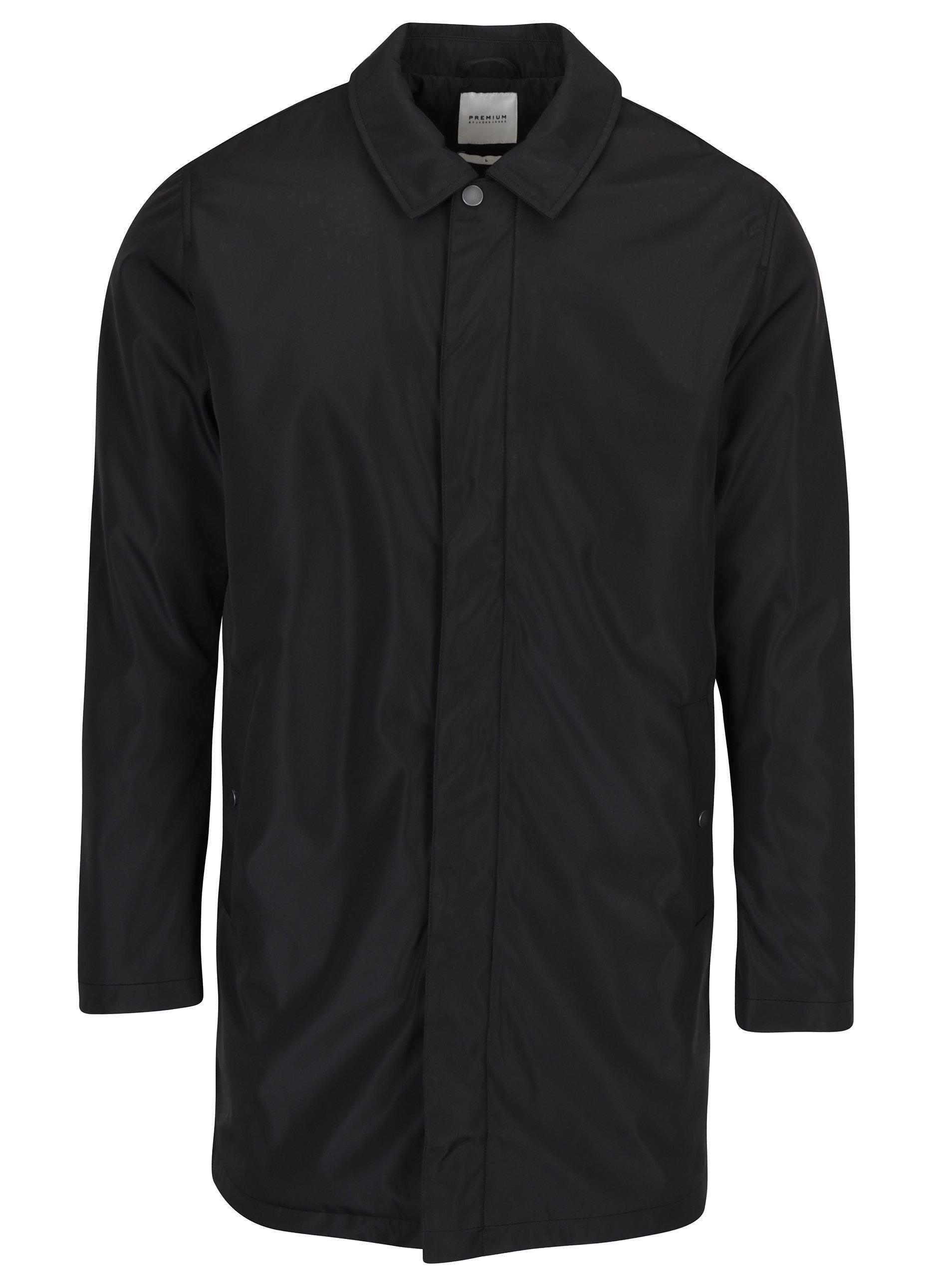 Černý kabát Jack & Jones Premium Thorsten