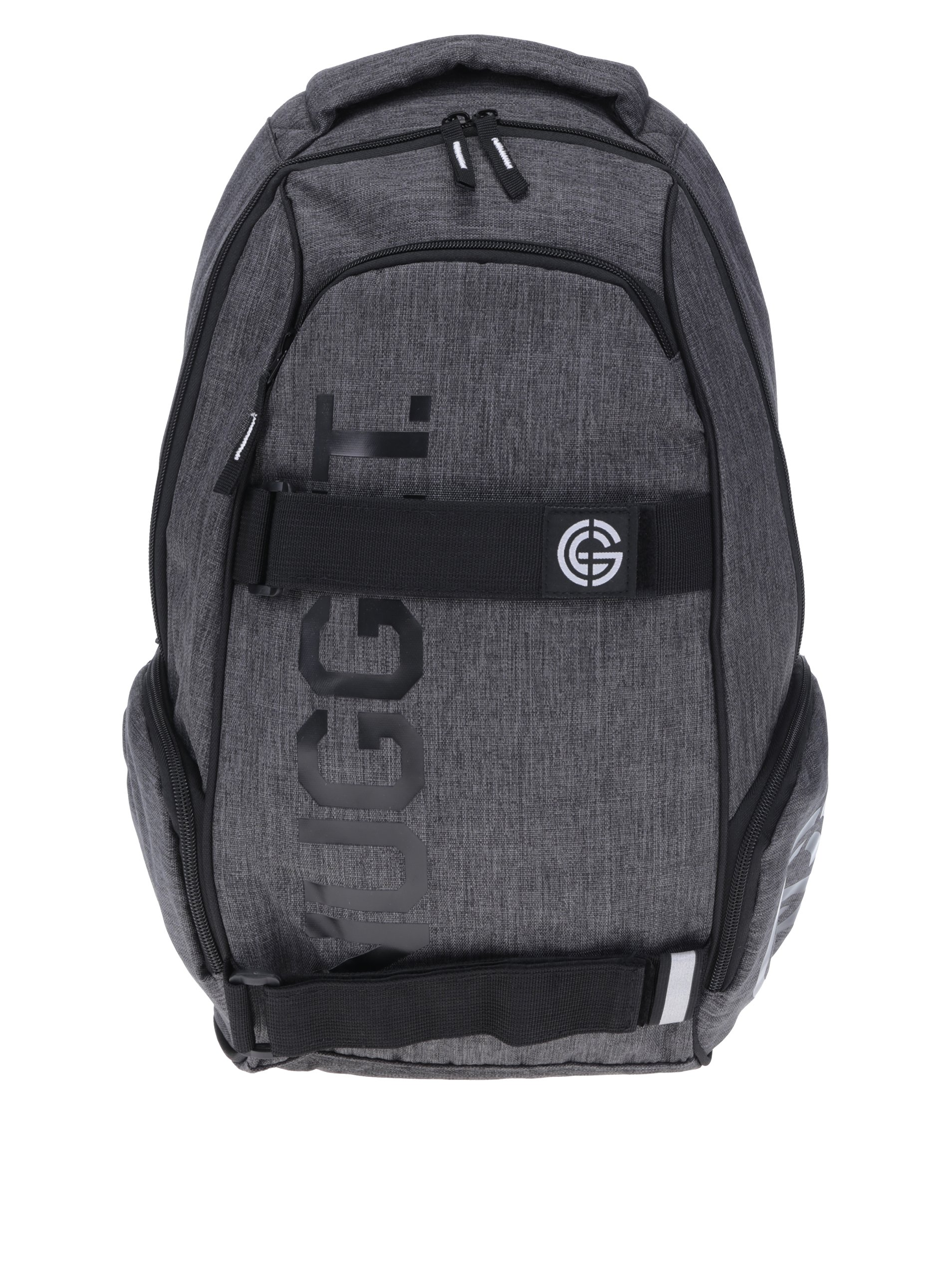 Tmavě šedý batoh NUGGET Bradley 24 l