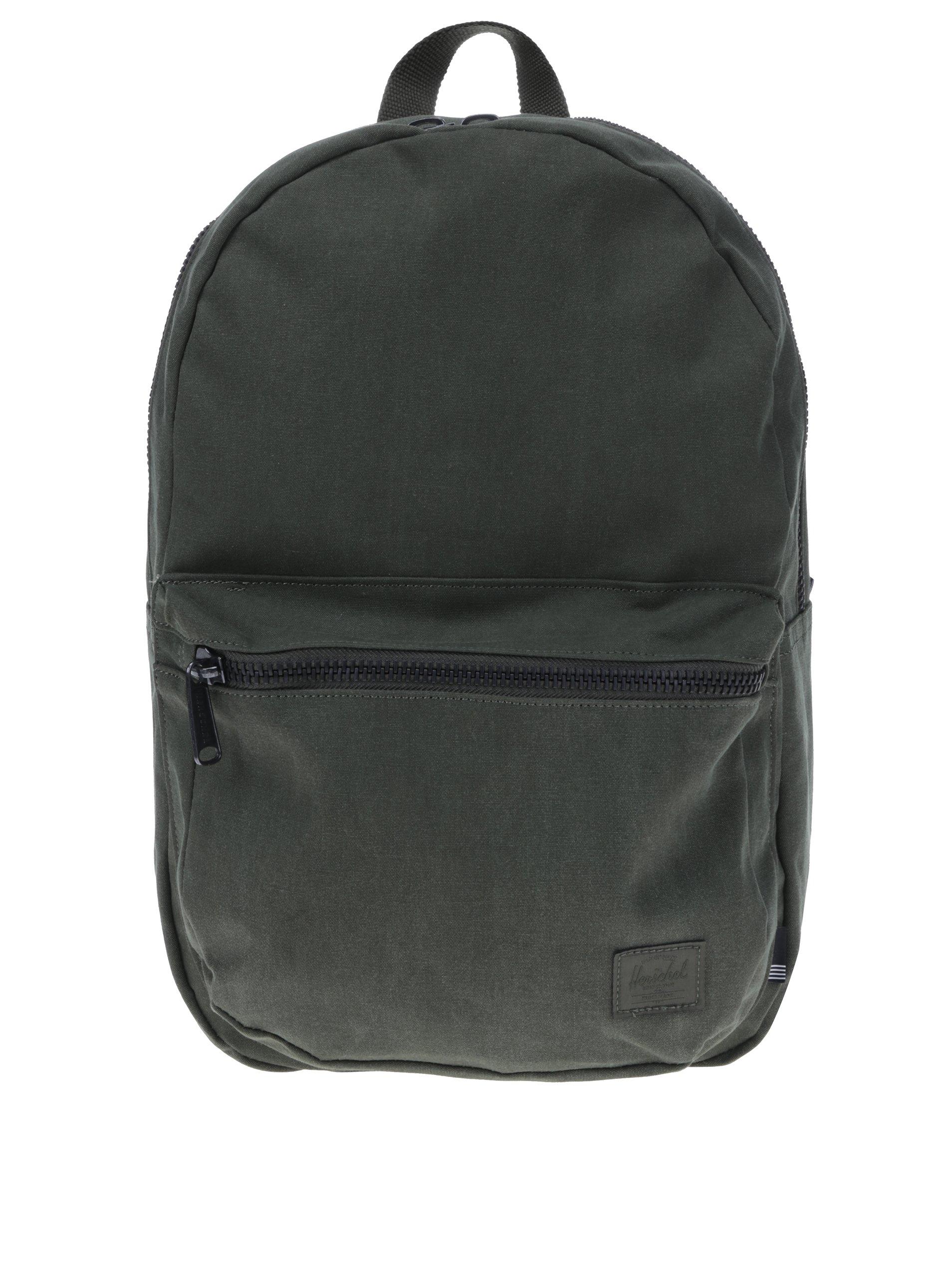 Tmavě zelený unisex batoh Herschel Lawson 22 l