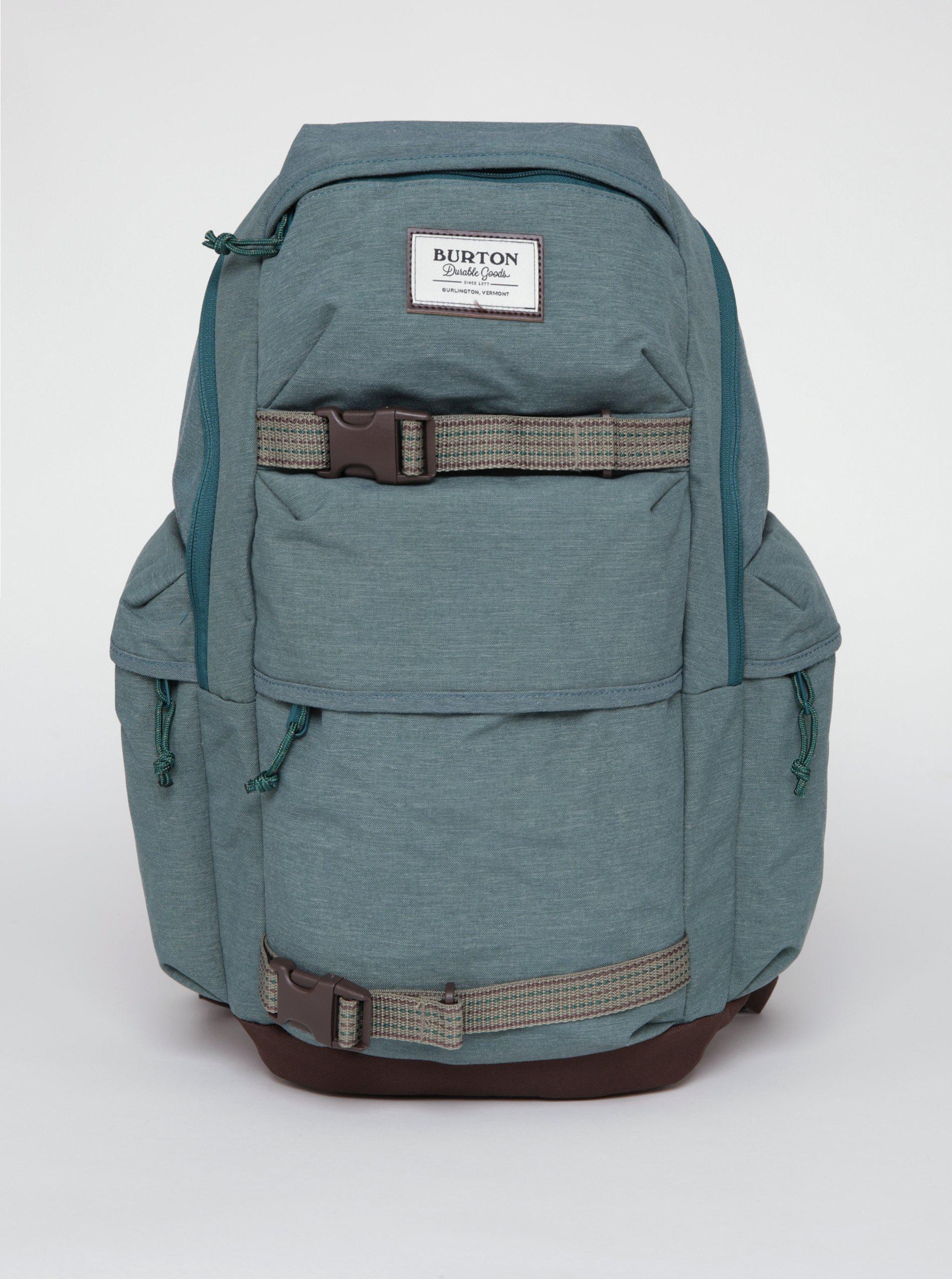 Hnědo-zelený batoh Burton Kilo Pack 27 l