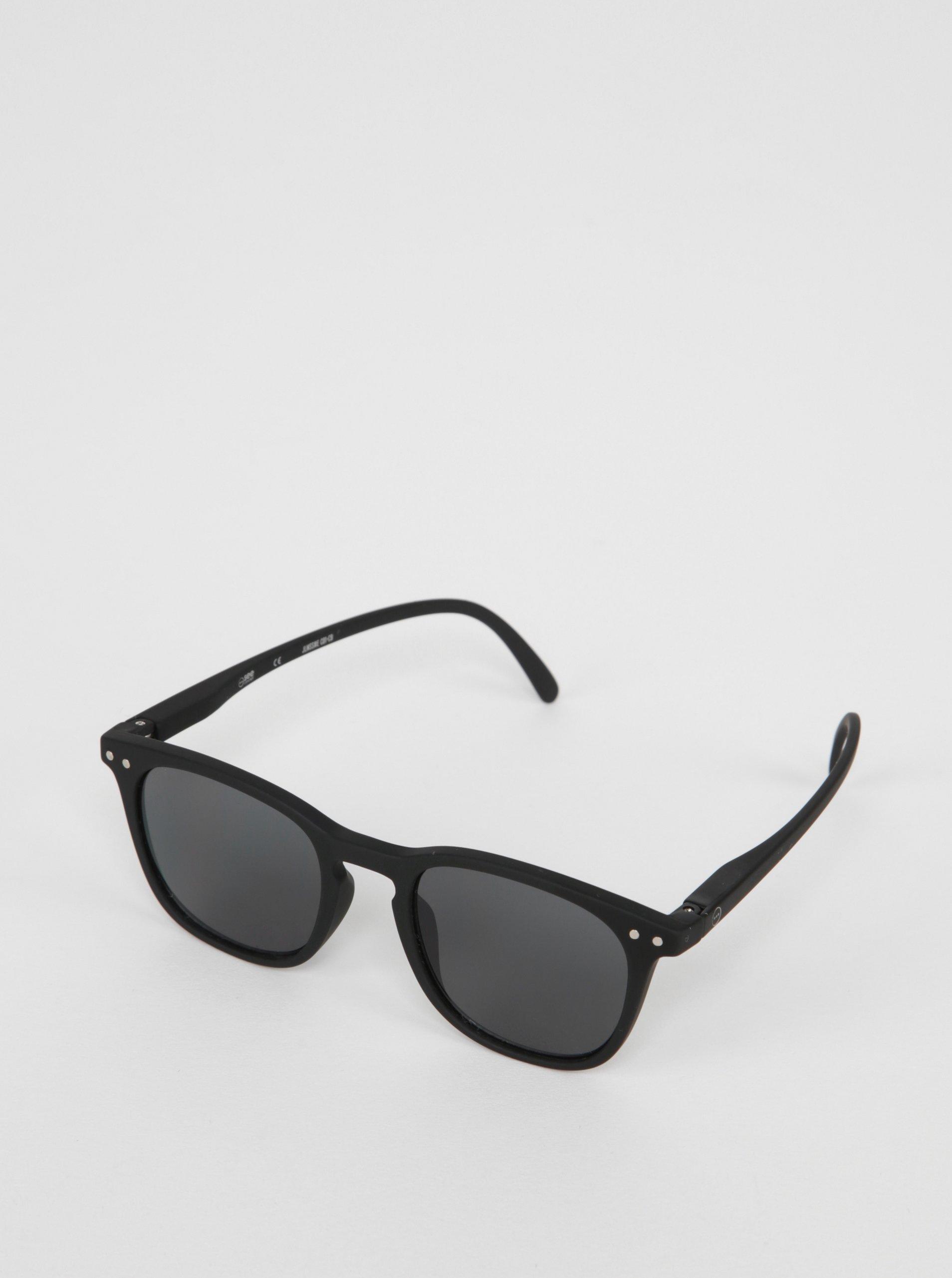 Černé dětské sluneční brýle s tmavými skly IZIPIZI  E a6c2e44a3c
