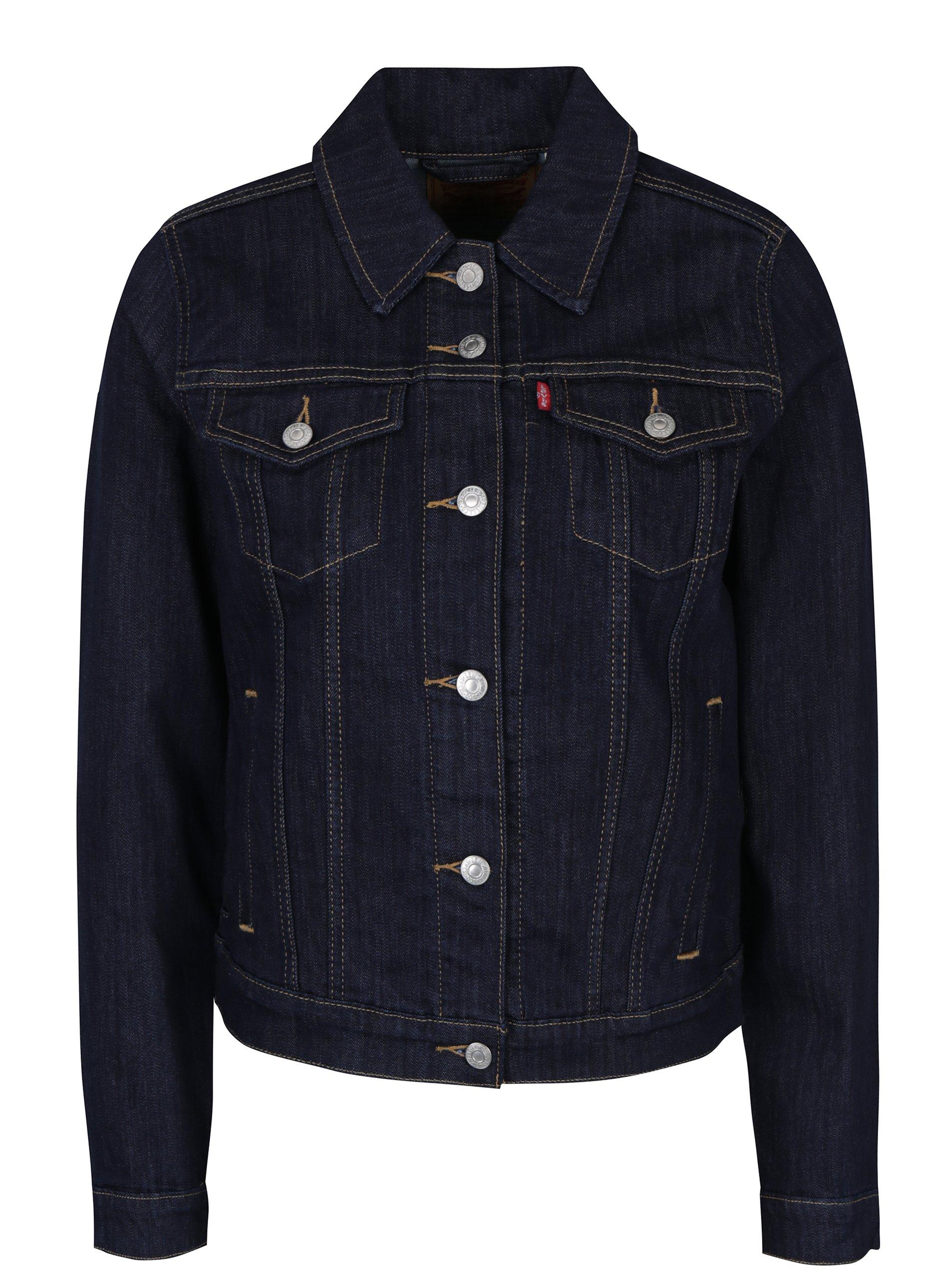 Tmavě modrá dámská džínová bunda Levi's® Even Rinse