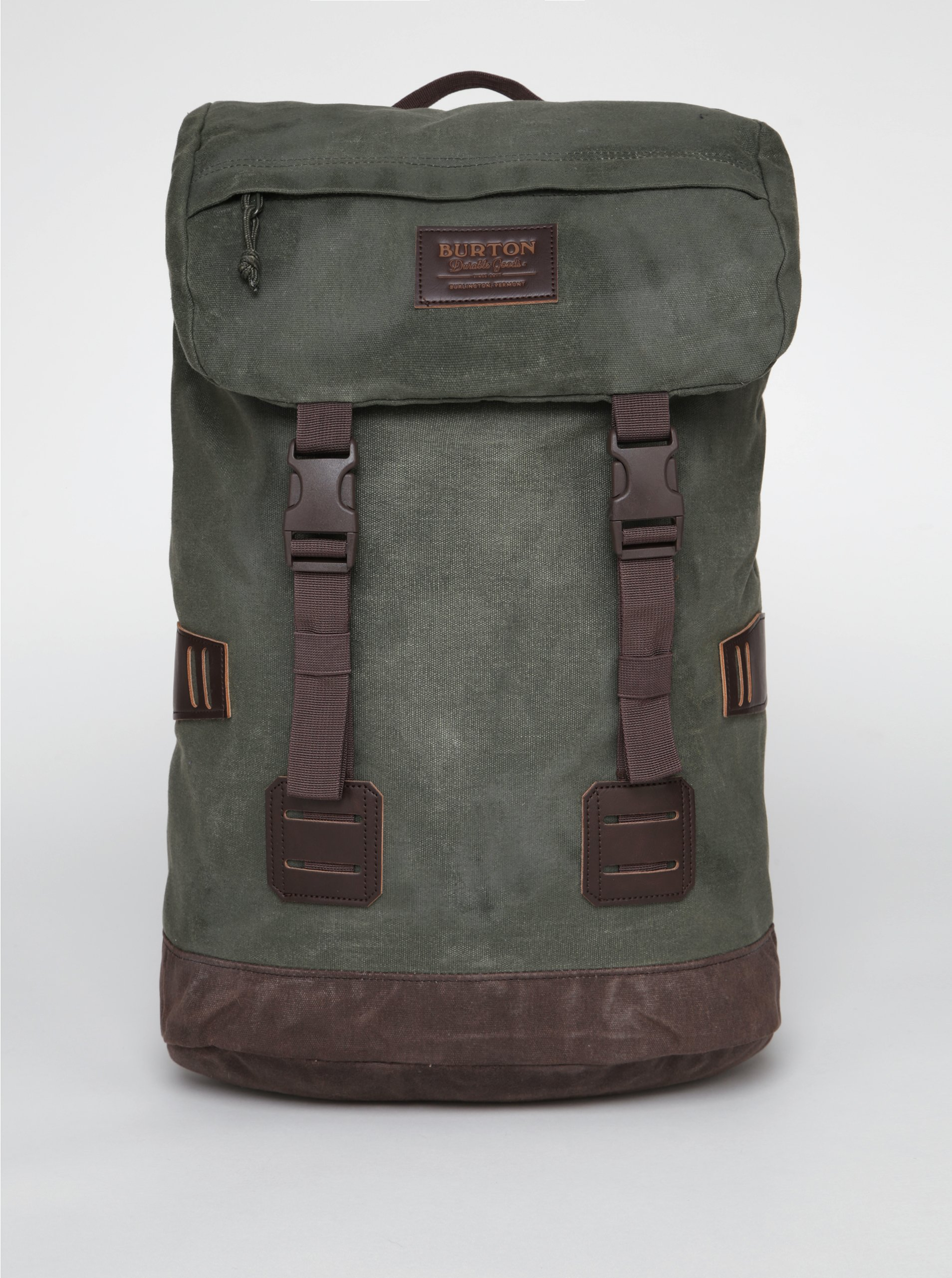 Tmavě zelený batoh Burton Tinder 25 l