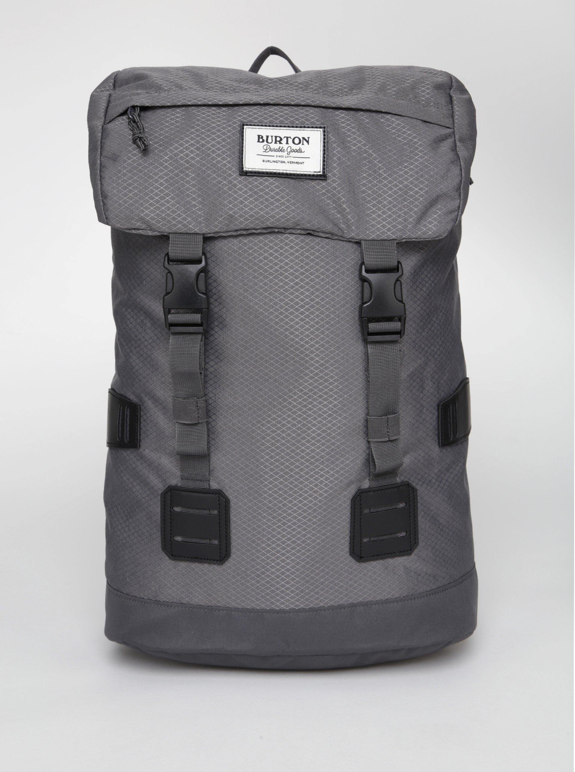 Sivý batoh s jemným vzorom Burton Tinder 25 l