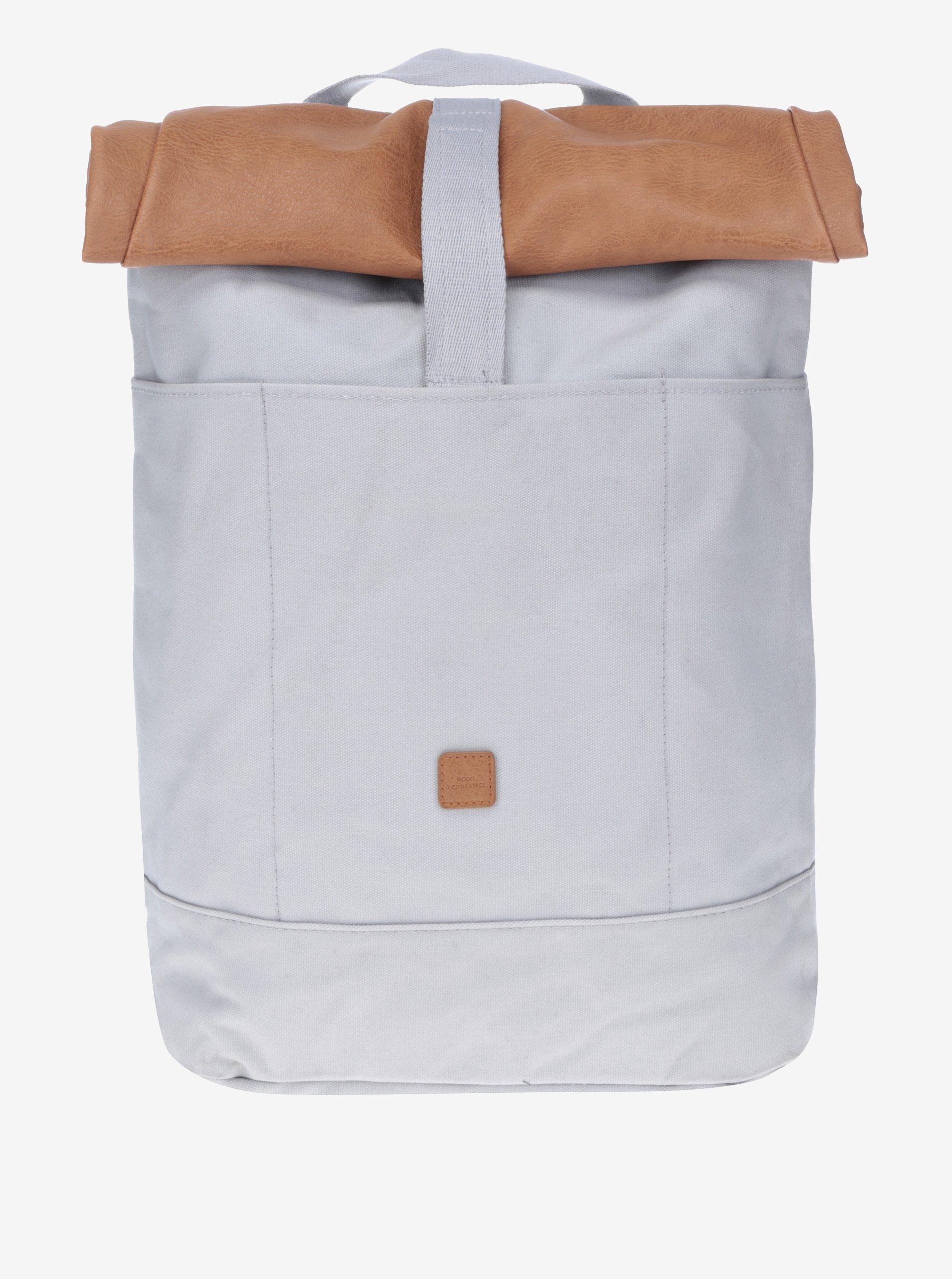 Světle šedý voděodolný batoh UCON ACROBATICS Hajo 20 l