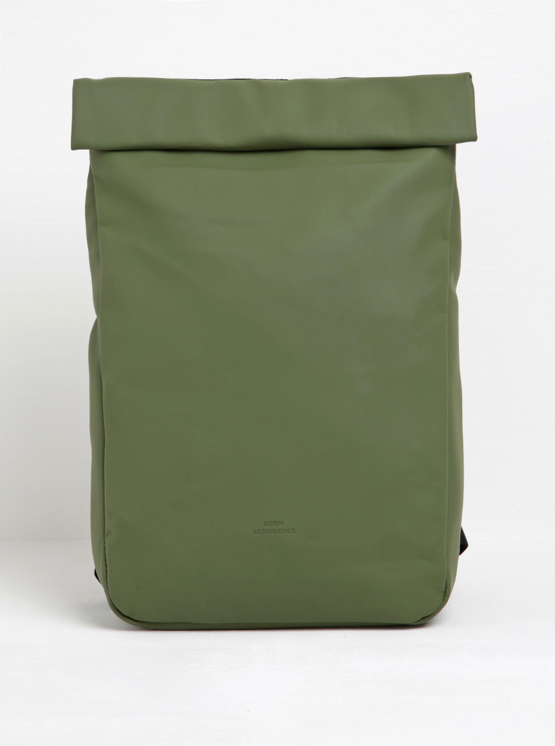 Khaki voděodolný rolovací batoh UCON ACROBATICS Alan 12 l