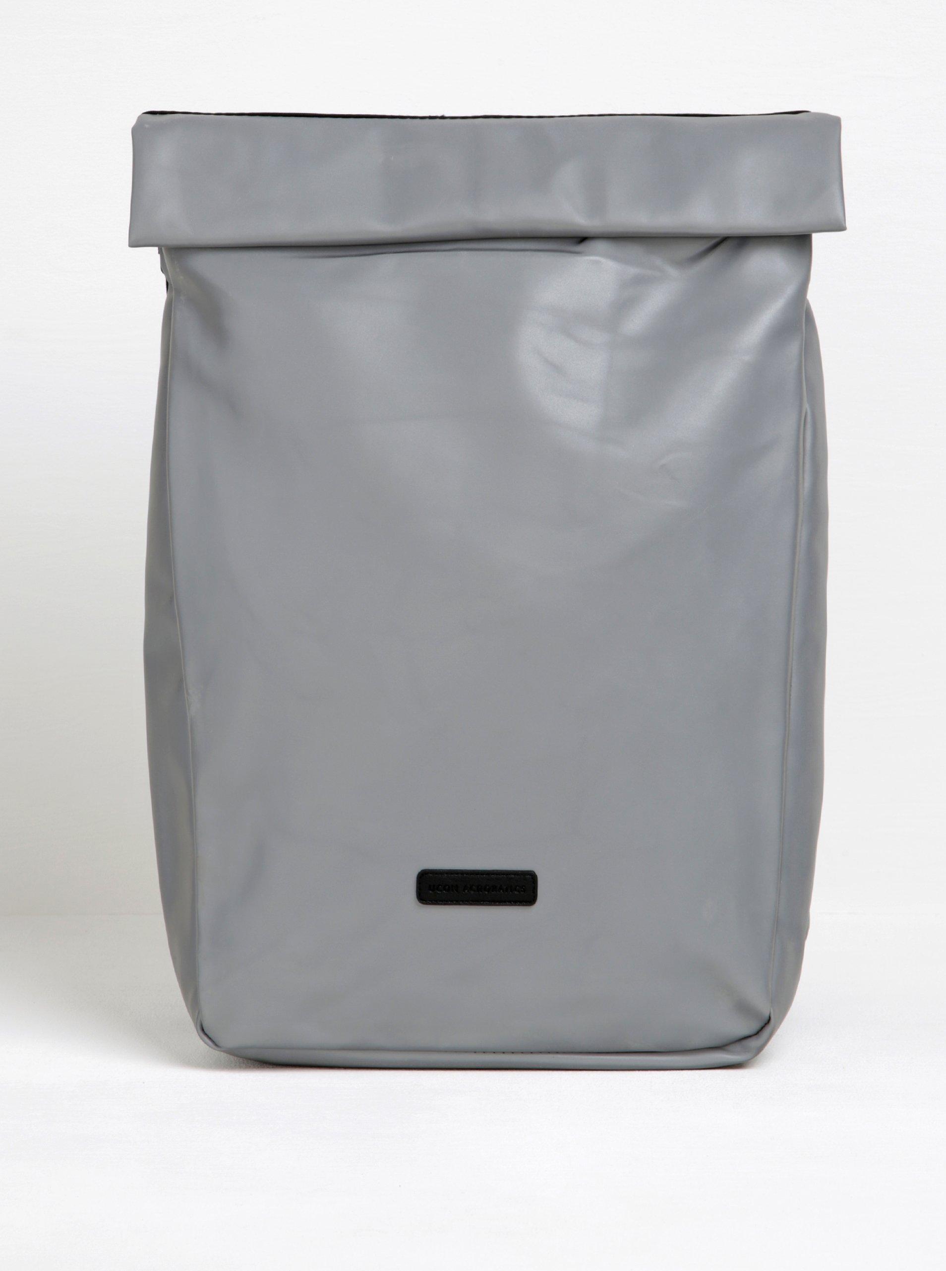 Šedý voděodolný rolovací batoh UCON ACROBATICS Alan 12 l