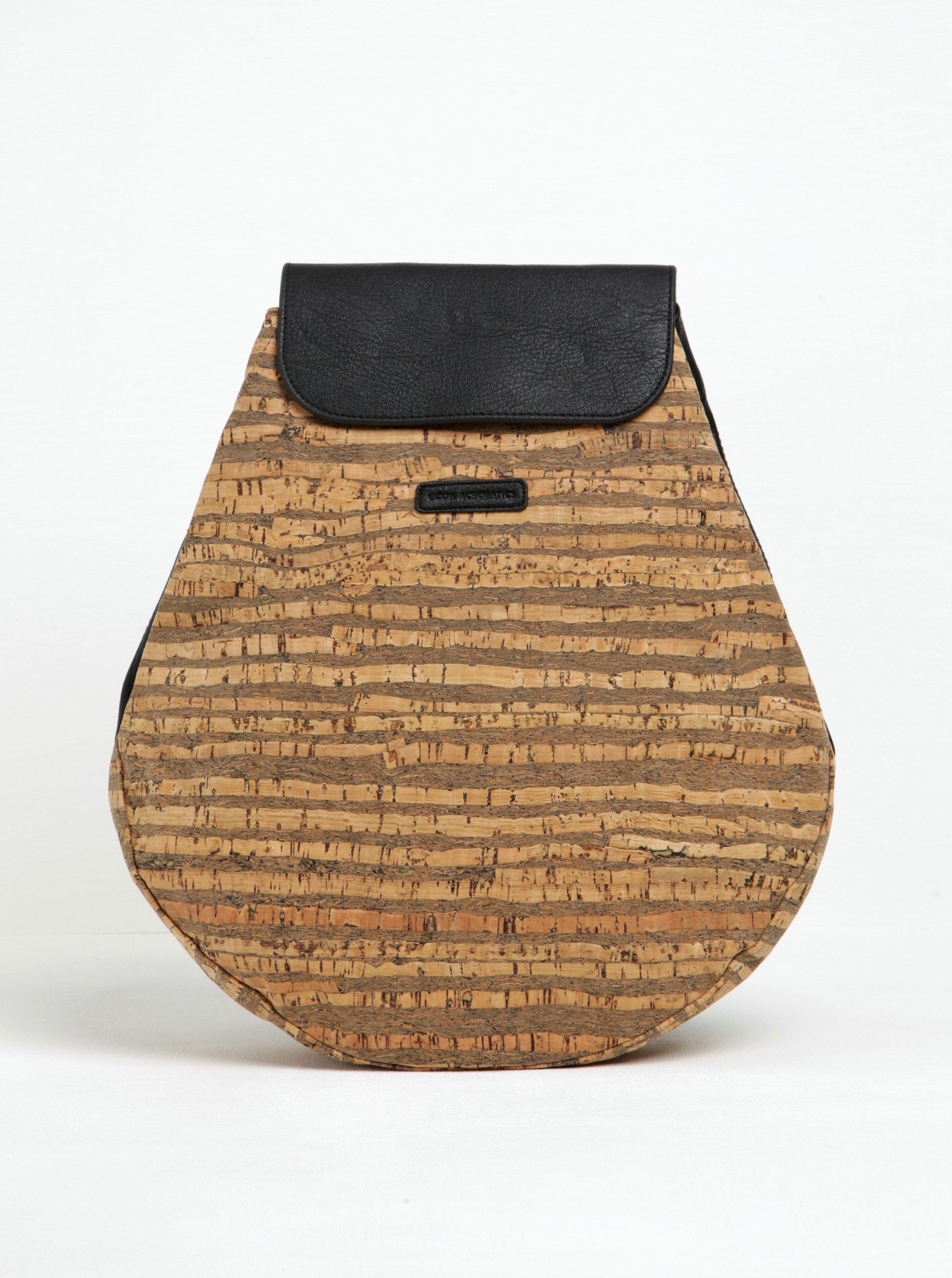 Hnědý vzorovaný voděodolný batoh UCON ACROBATICS Pekka 12 l
