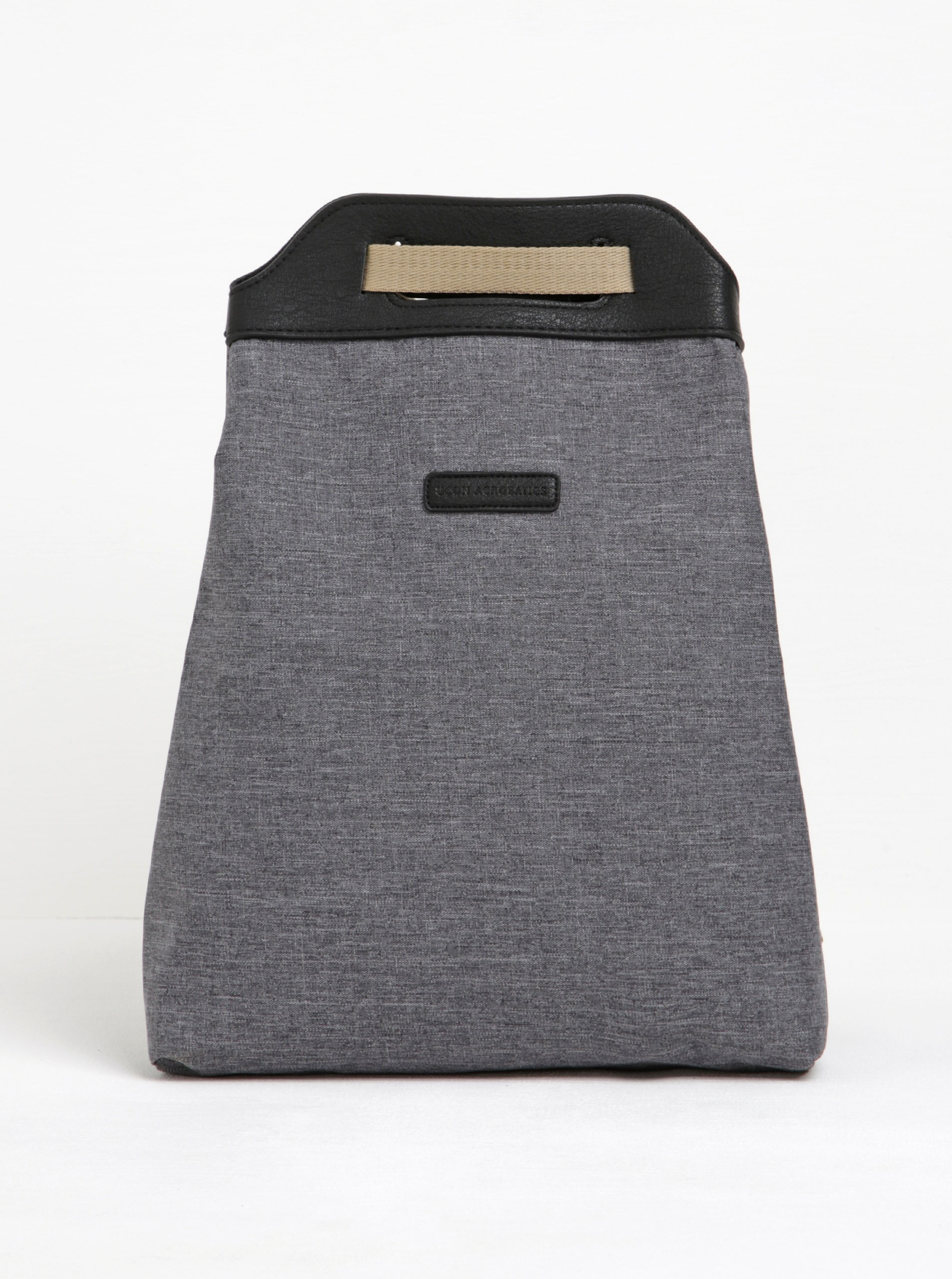 Šedý žíhaný asymetrický voděodolný batoh UCON ACROBATICS Calina
