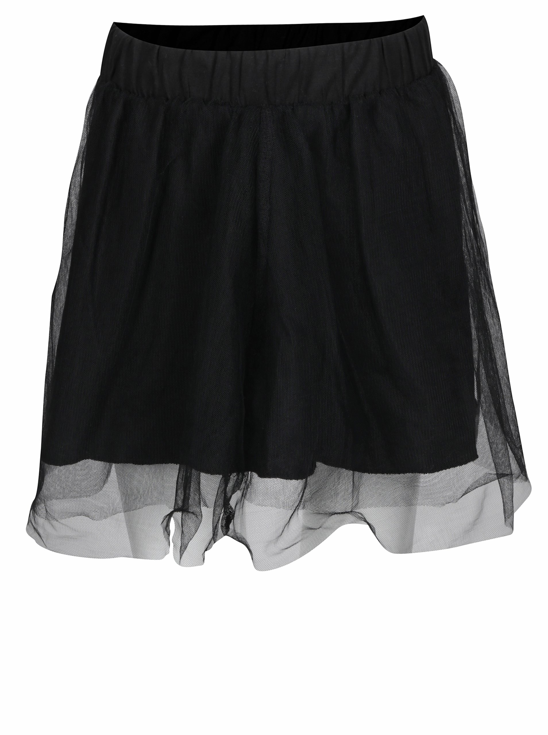 Čierna dievčenská tylová sukňa Blue Seven