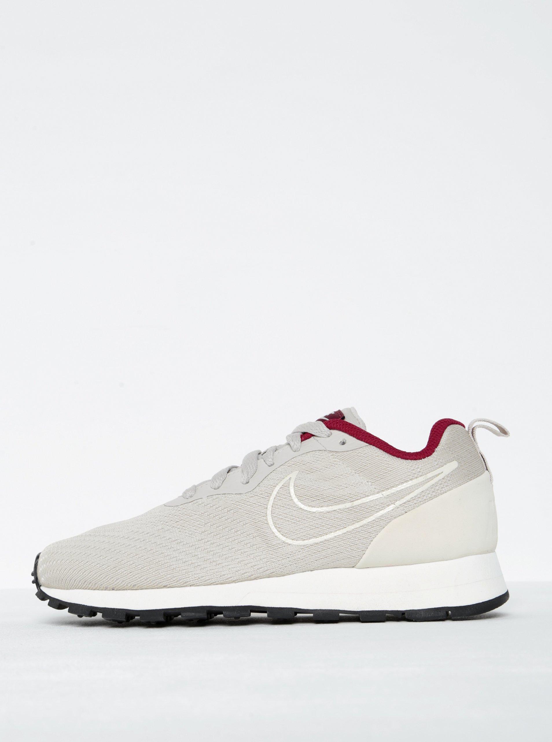 Béžové dámské tenisky Nike Mid Runner 2 ENG Mesh