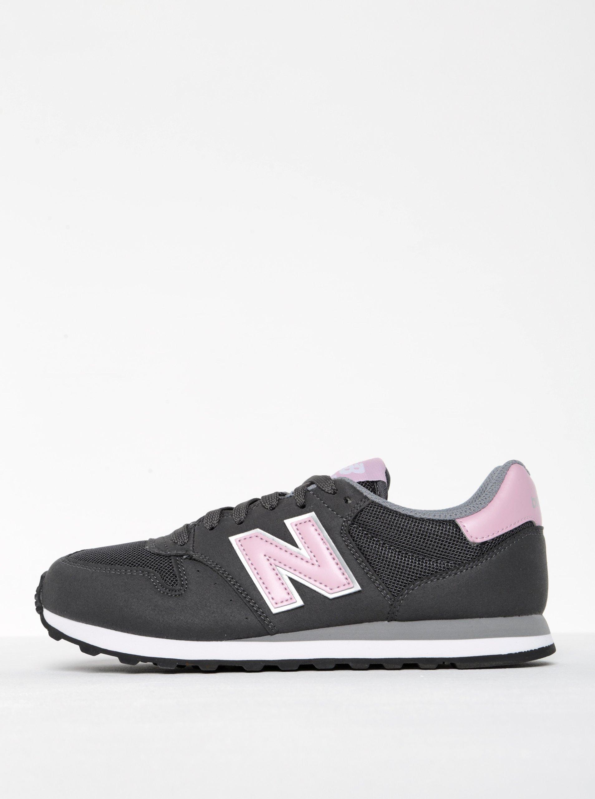 Šedé dámské tenisky New Balance